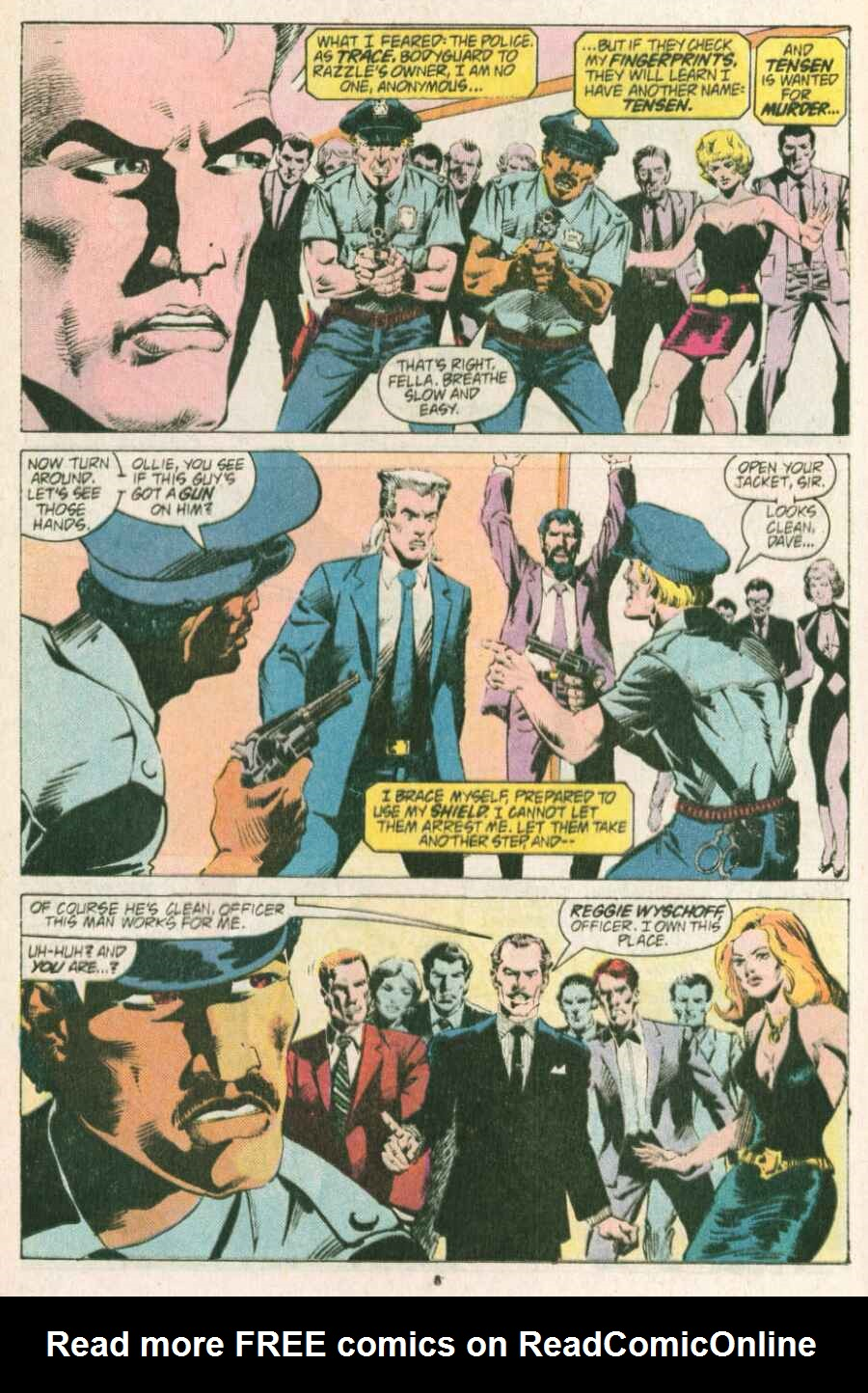 Read online Justice (1986) comic -  Issue #13 - 9