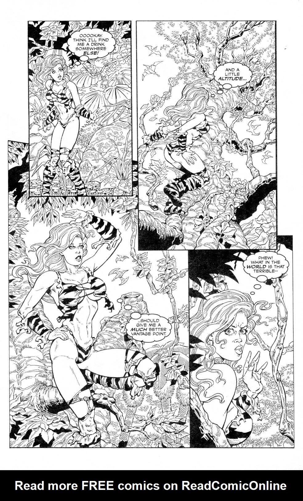 Read online Jungle Fantasy (2002) comic -  Issue #3 - 9