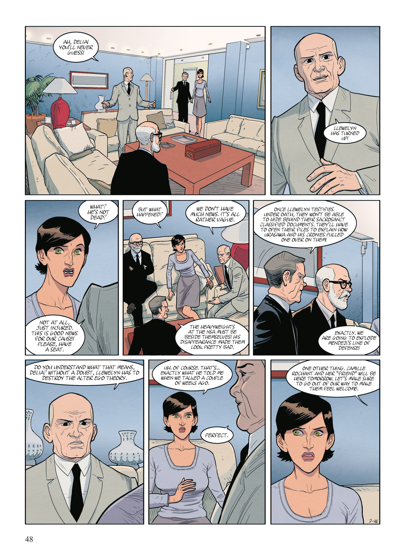 Read online Alter Ego comic -  Issue #9 - 50
