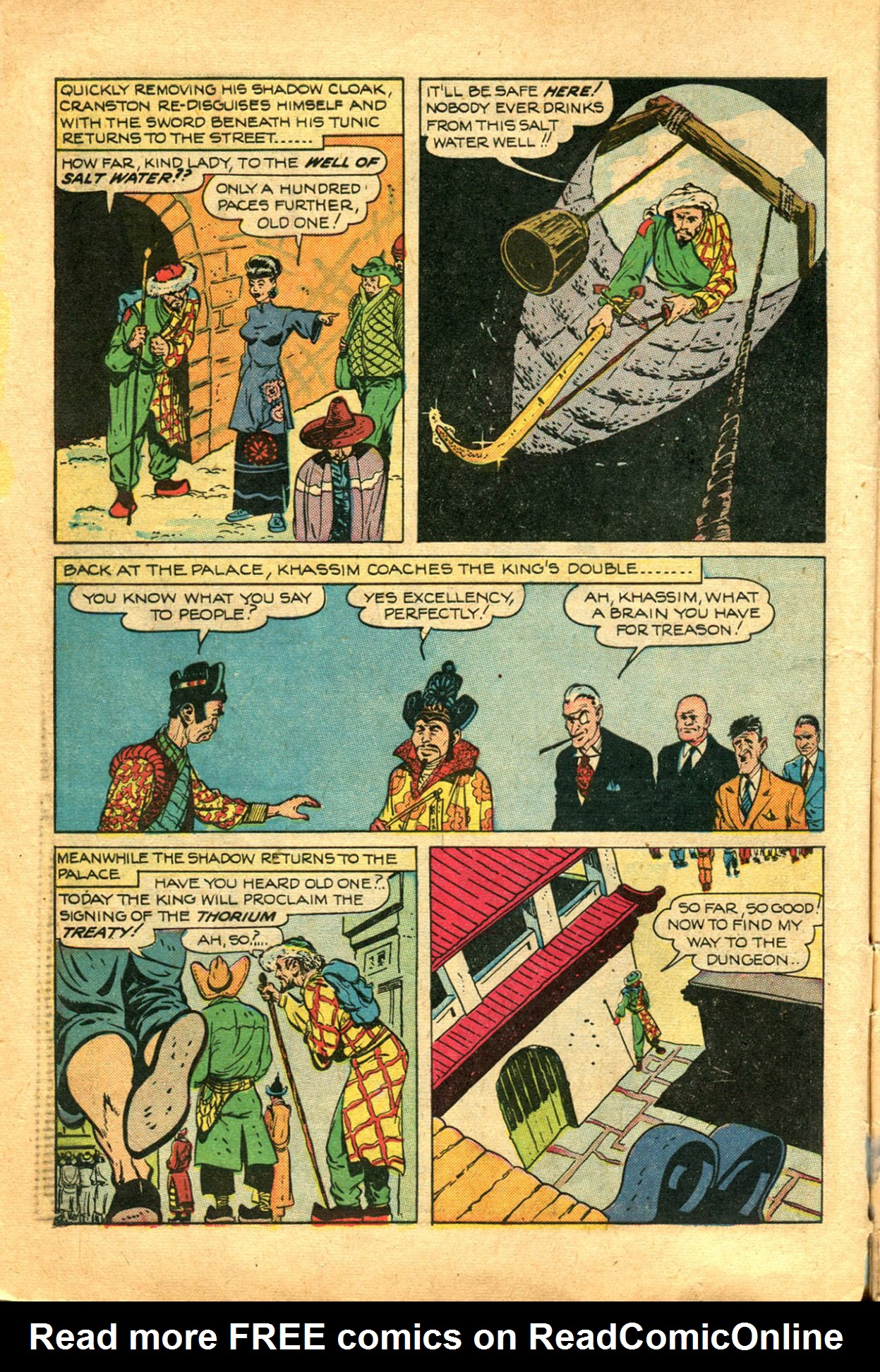 Read online Shadow Comics comic -  Issue #78 - 10