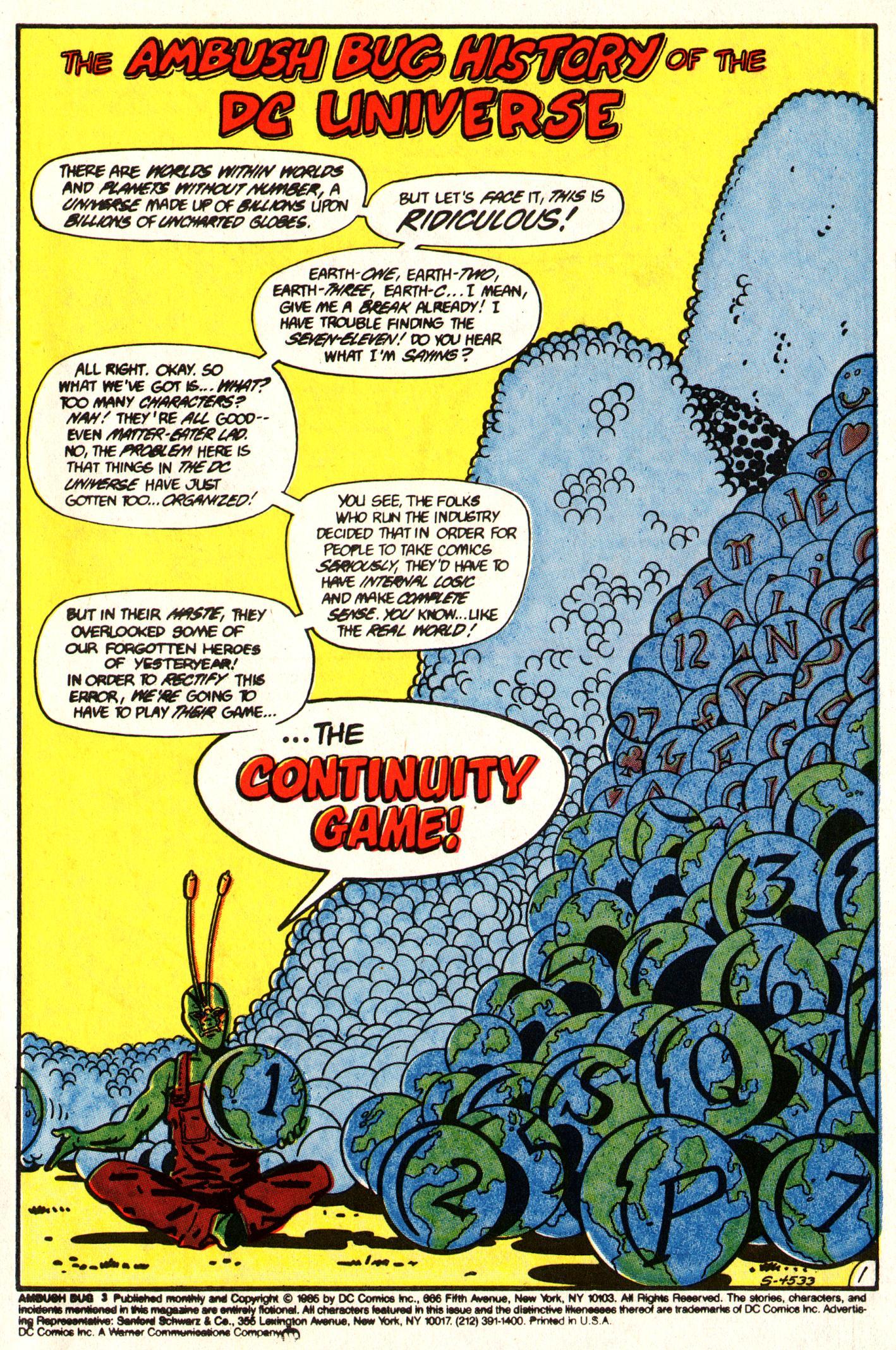 Read online Ambush Bug comic -  Issue #3 - 3