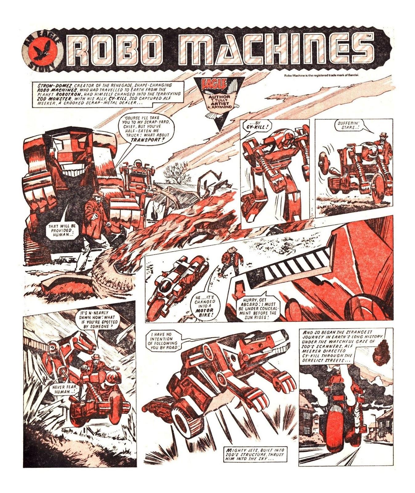 Read online Robo Machines comic -  Issue # TPB - 73