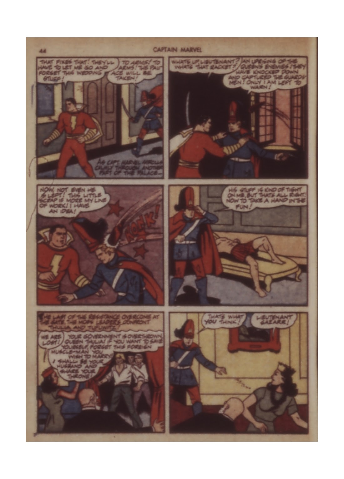 Captain Marvel Adventures issue 11 - Page 44