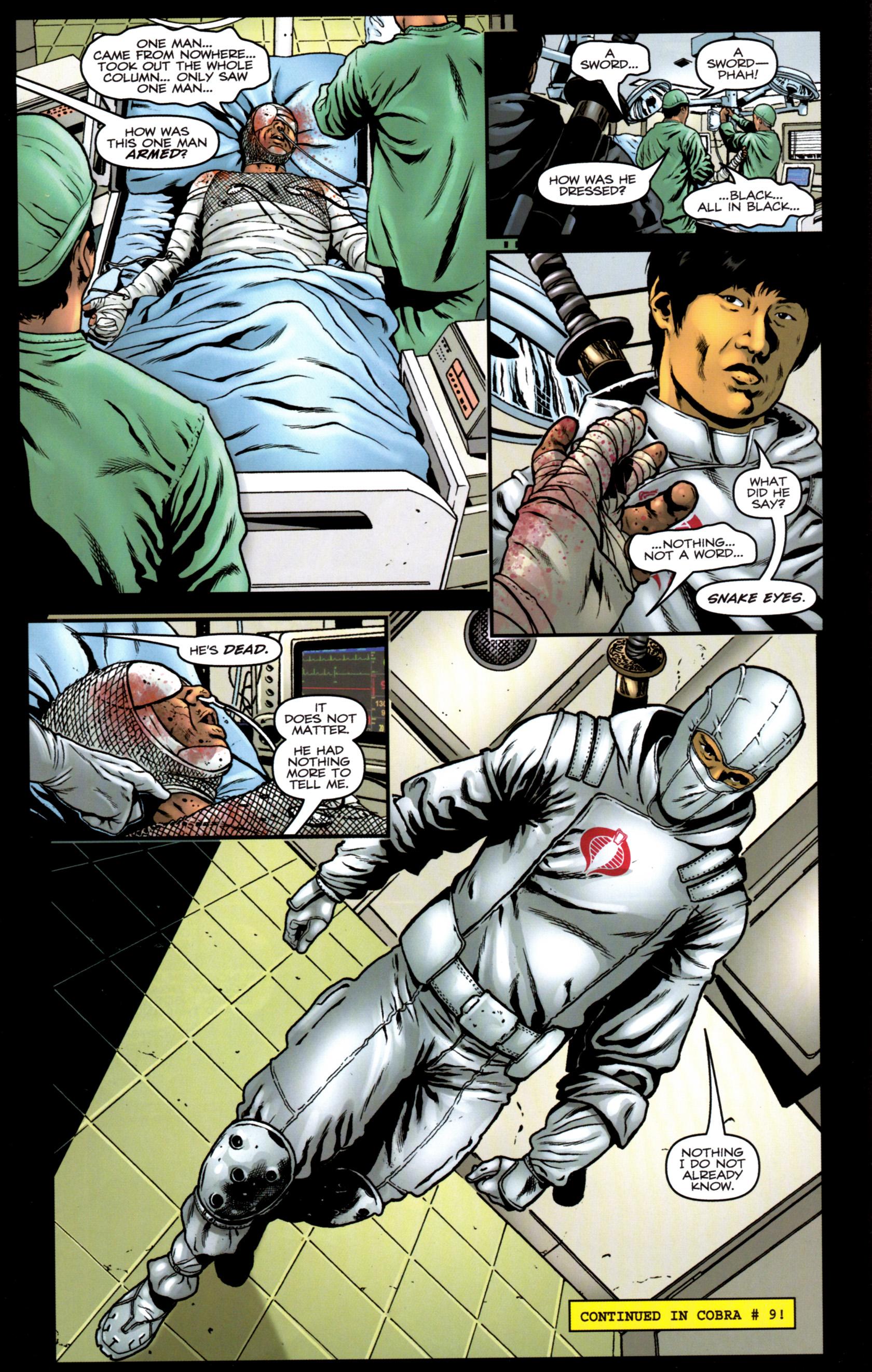 Read online G.I. Joe: Snake Eyes comic -  Issue #9 - 25