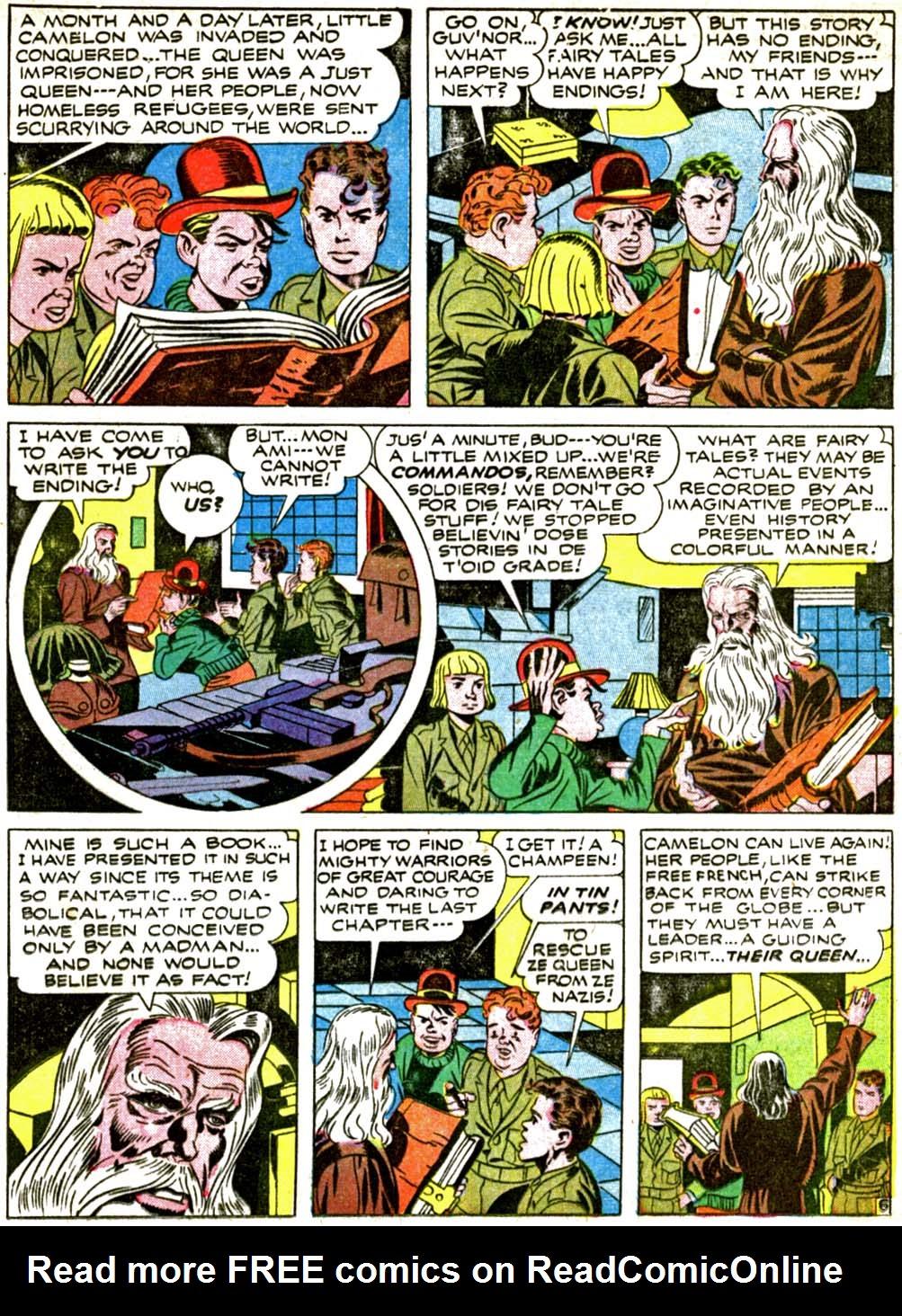 Boy Commandos issue 2 - Page 38