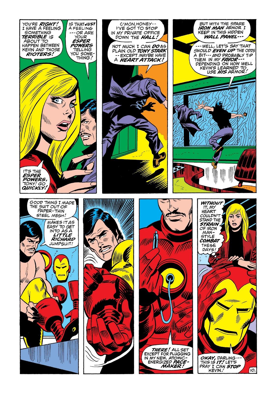 Read online Marvel Masterworks: The Invincible Iron Man comic -  Issue # TPB 8 (Part 2) - 54