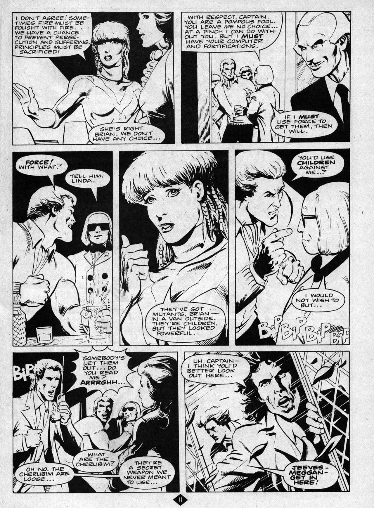 Captain Britain (1985) 8 Page 11