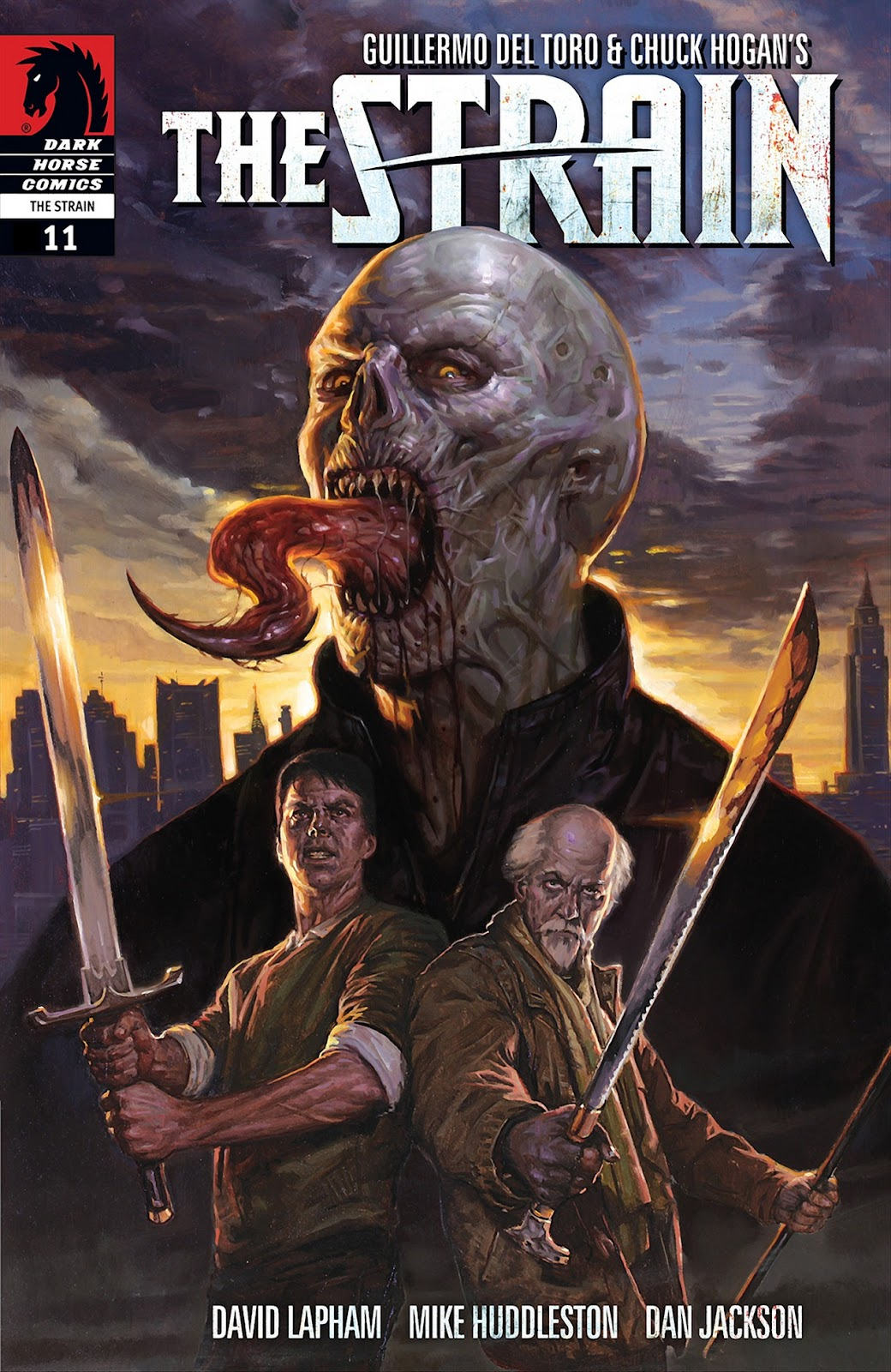 The Strain issue 11 - Page 1