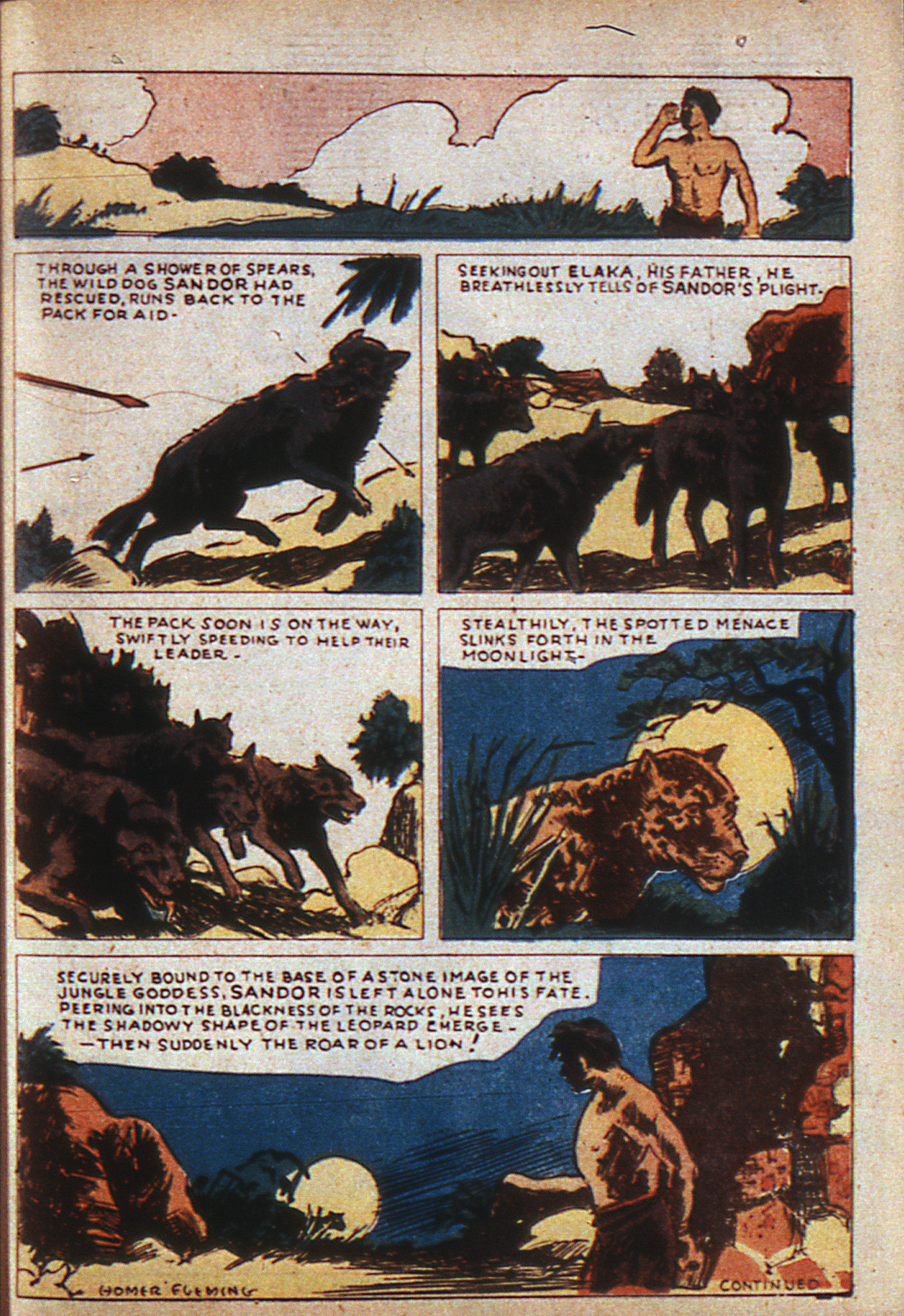 Read online Adventure Comics (1938) comic -  Issue #6 - 20