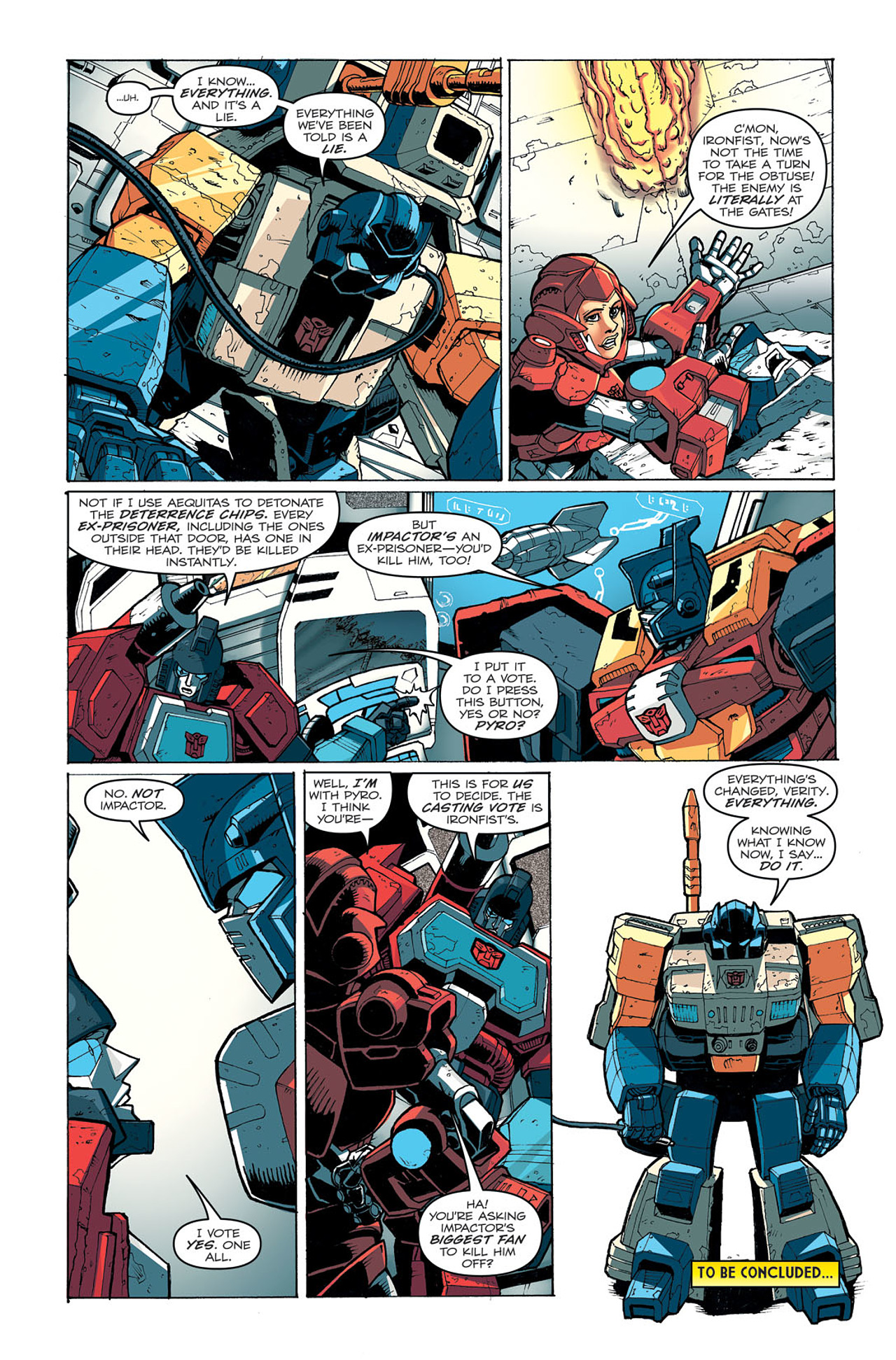 Read online Transformers: Last Stand of The Wreckers comic -  Issue #4 - 25