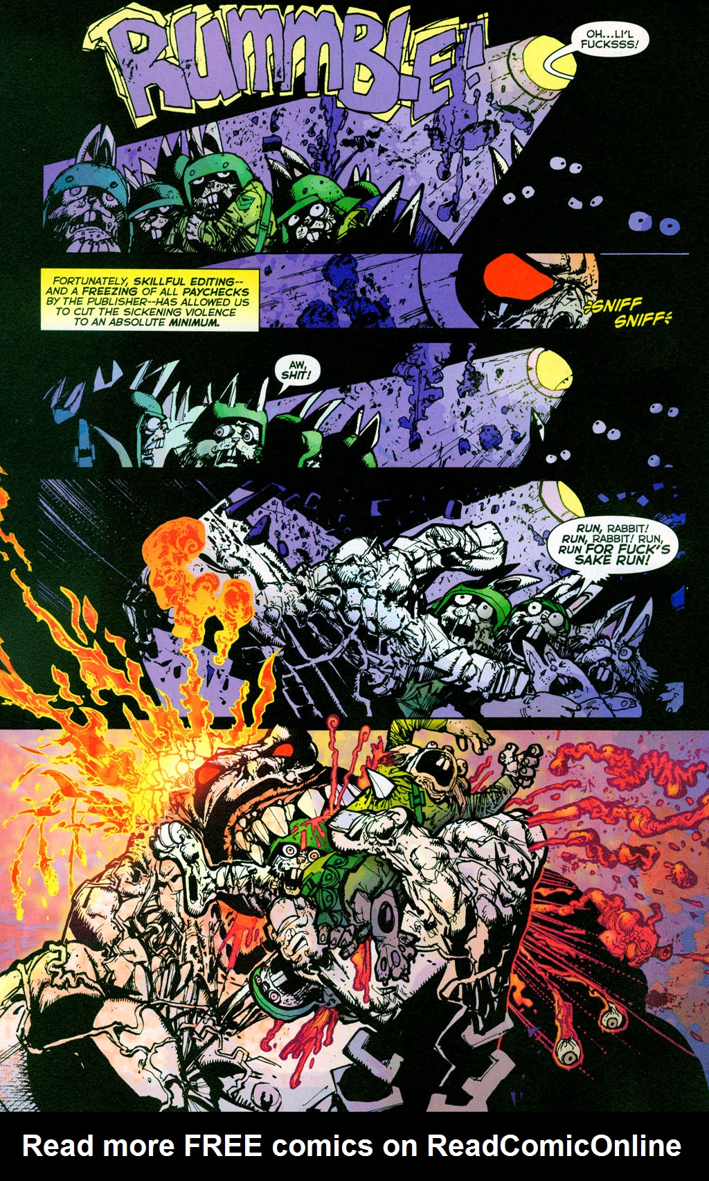 Read online The Authority/Lobo: Spring Break Massacre comic -  Issue # Full - 37