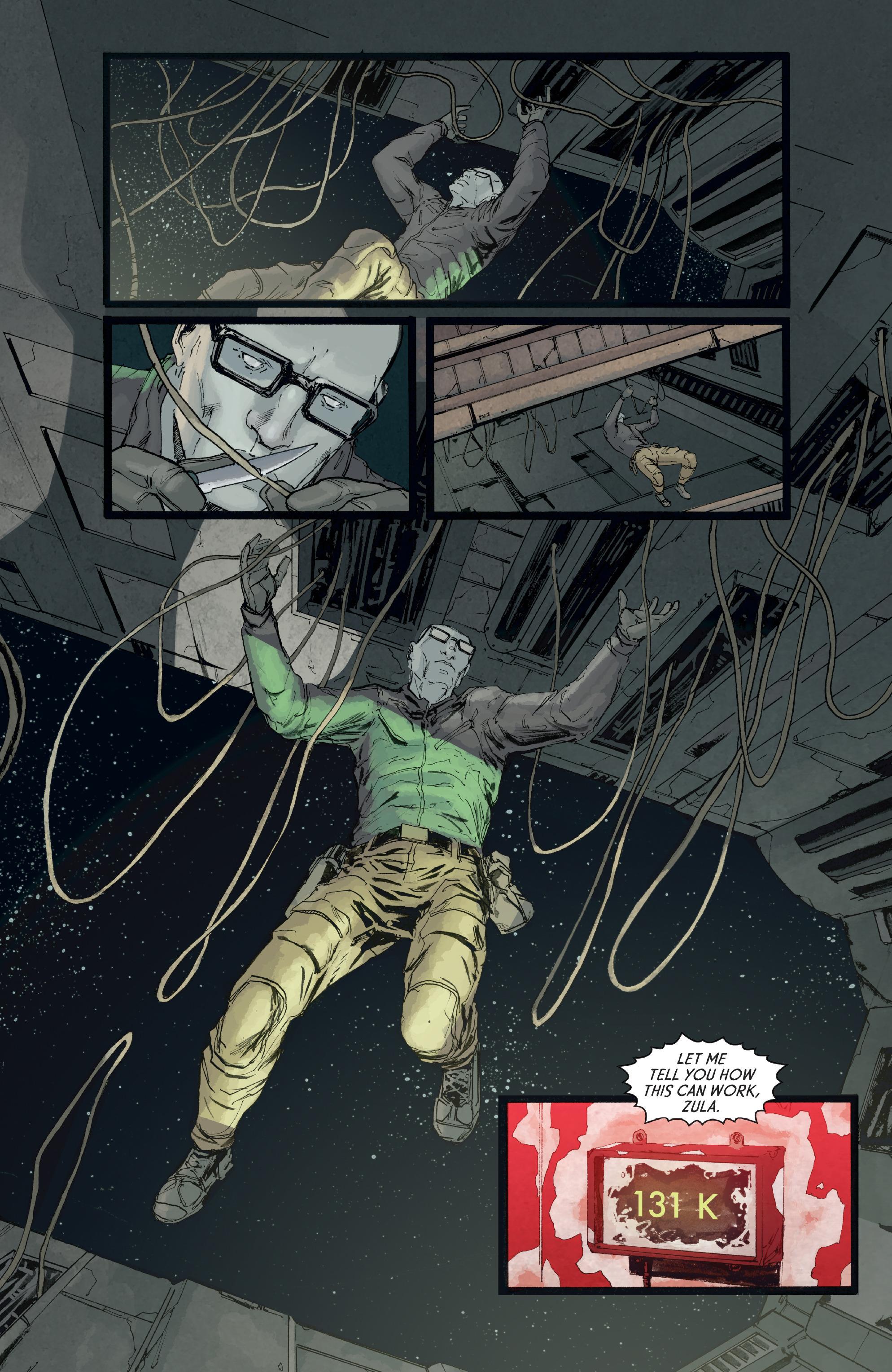 Read online Aliens: Defiance comic -  Issue #8 - 9