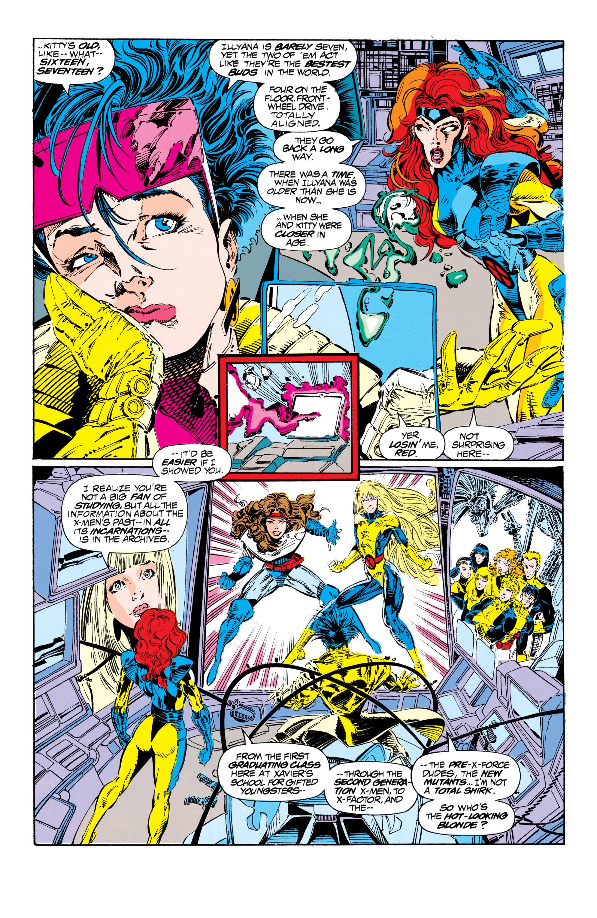 Read online Uncanny X-Men (1963) comic -  Issue #303 - 8
