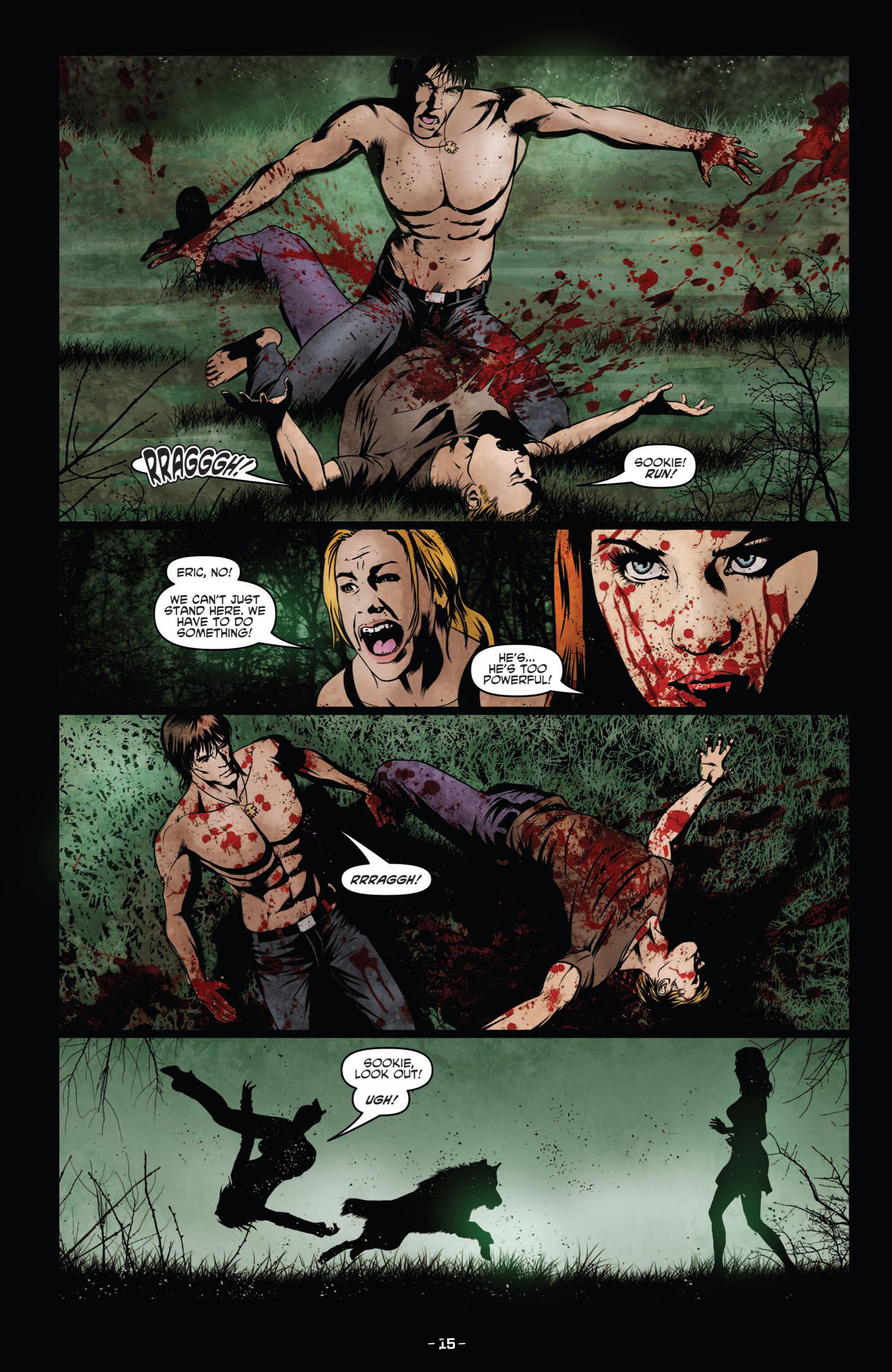 Read online True Blood (2012) comic -  Issue #9 - 17