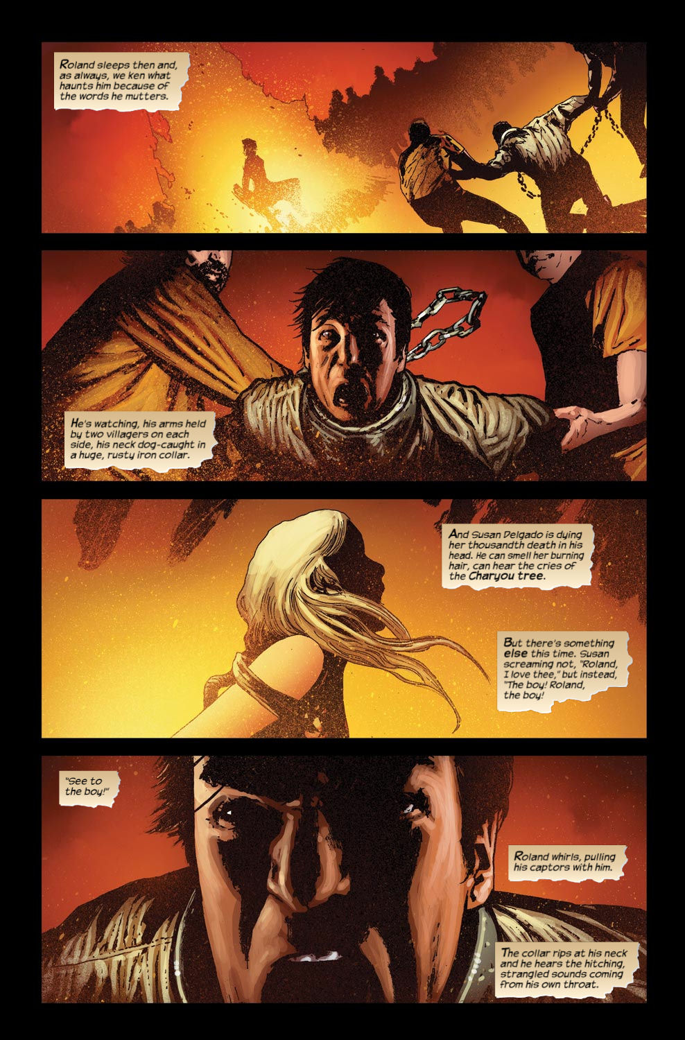 Read online Dark Tower: The Gunslinger - The Way Station comic -  Issue #4 - 17