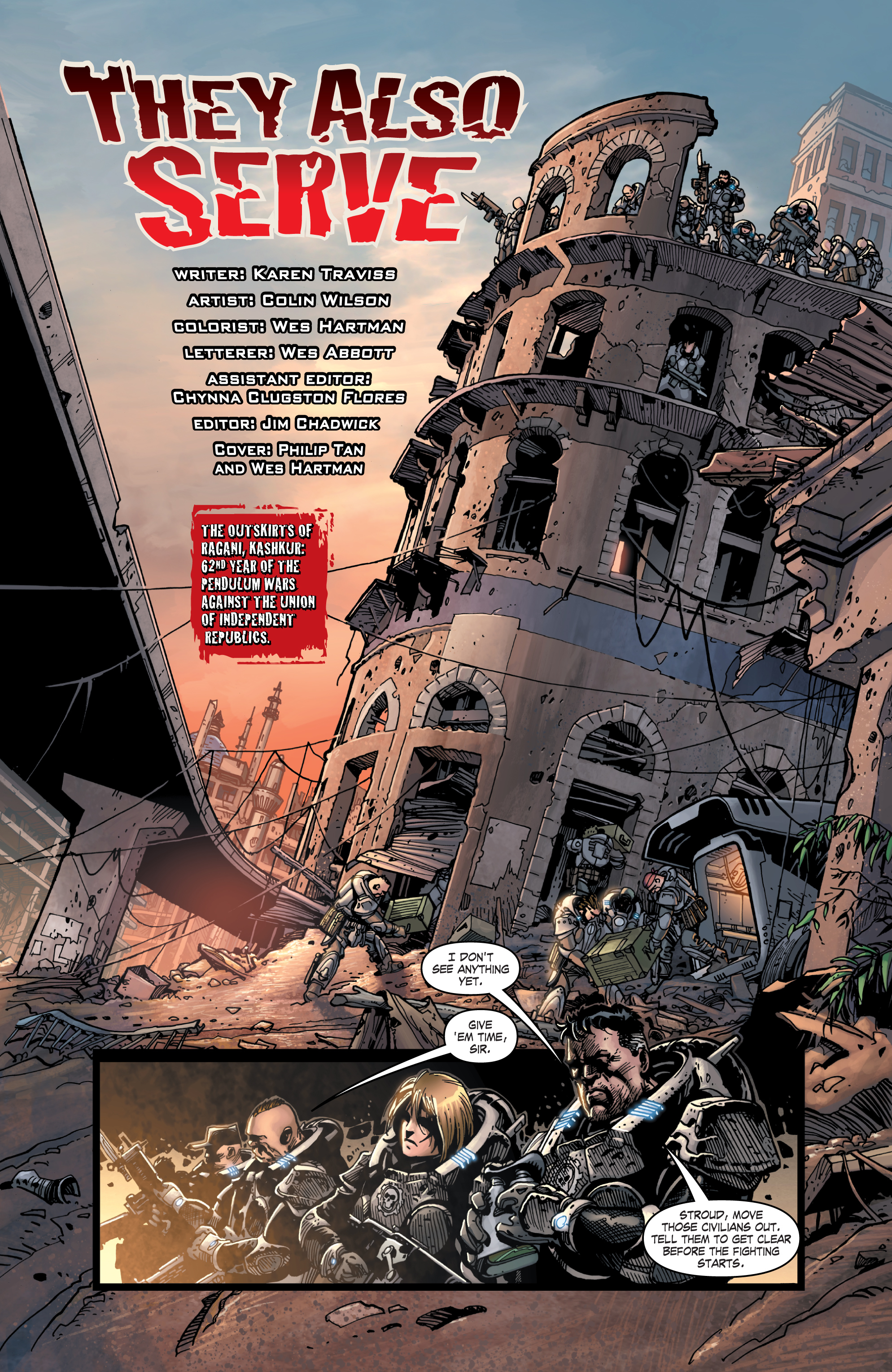 Gears Of War Issue 15 | Viewcomic reading comics online for