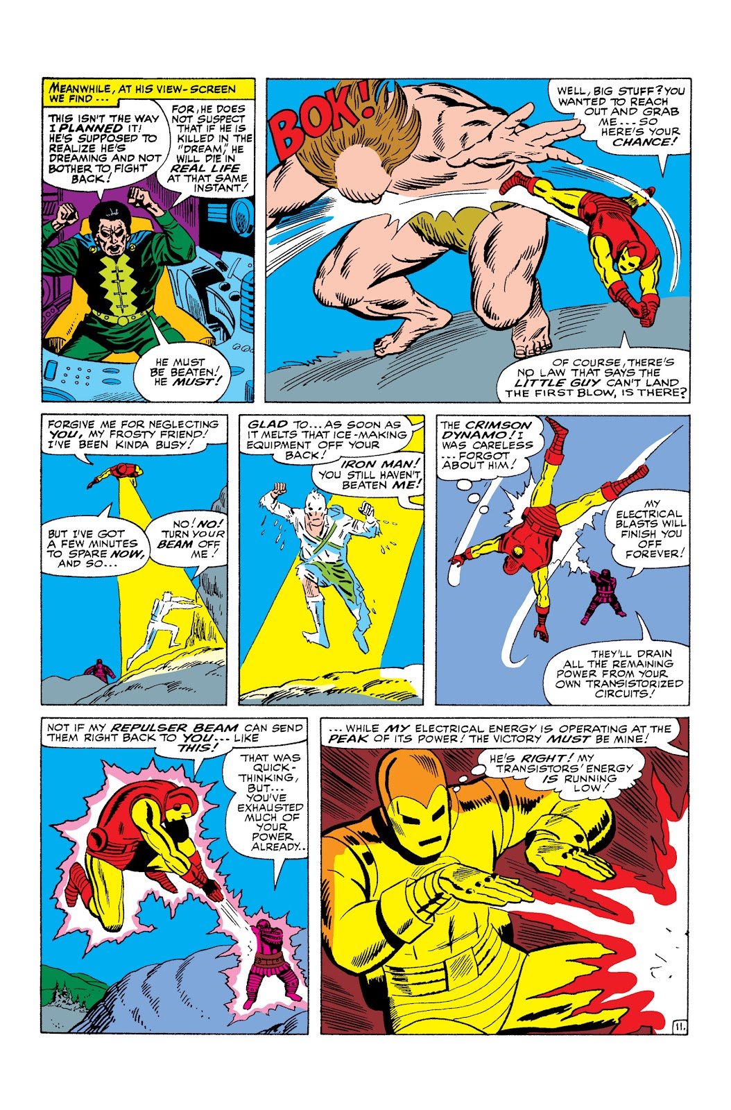 Read online Marvel Masterworks: The Invincible Iron Man comic -  Issue # TPB 3 (Part 1) - 37