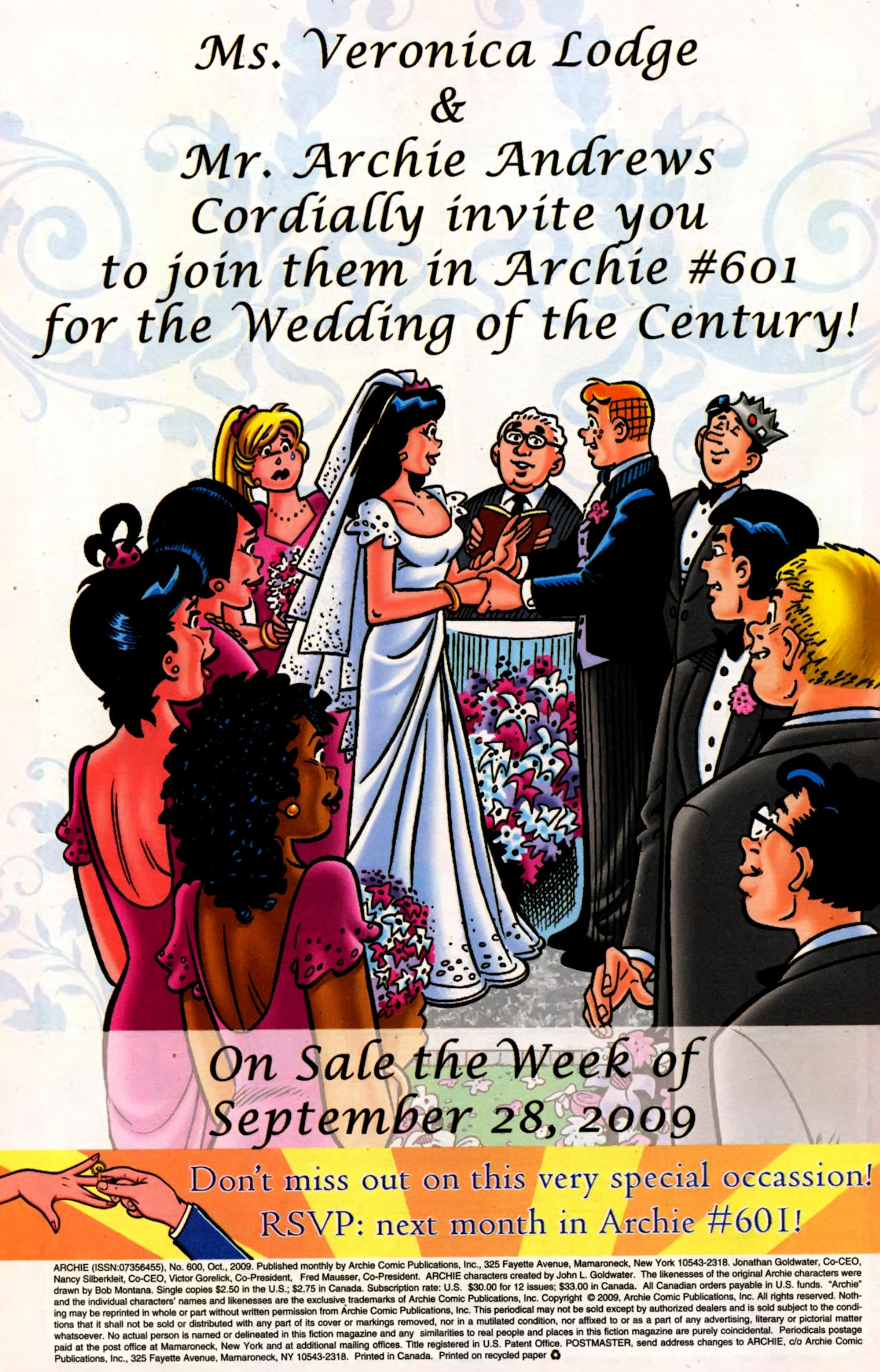 Read online Archie (1960) comic -  Issue #600 - 34