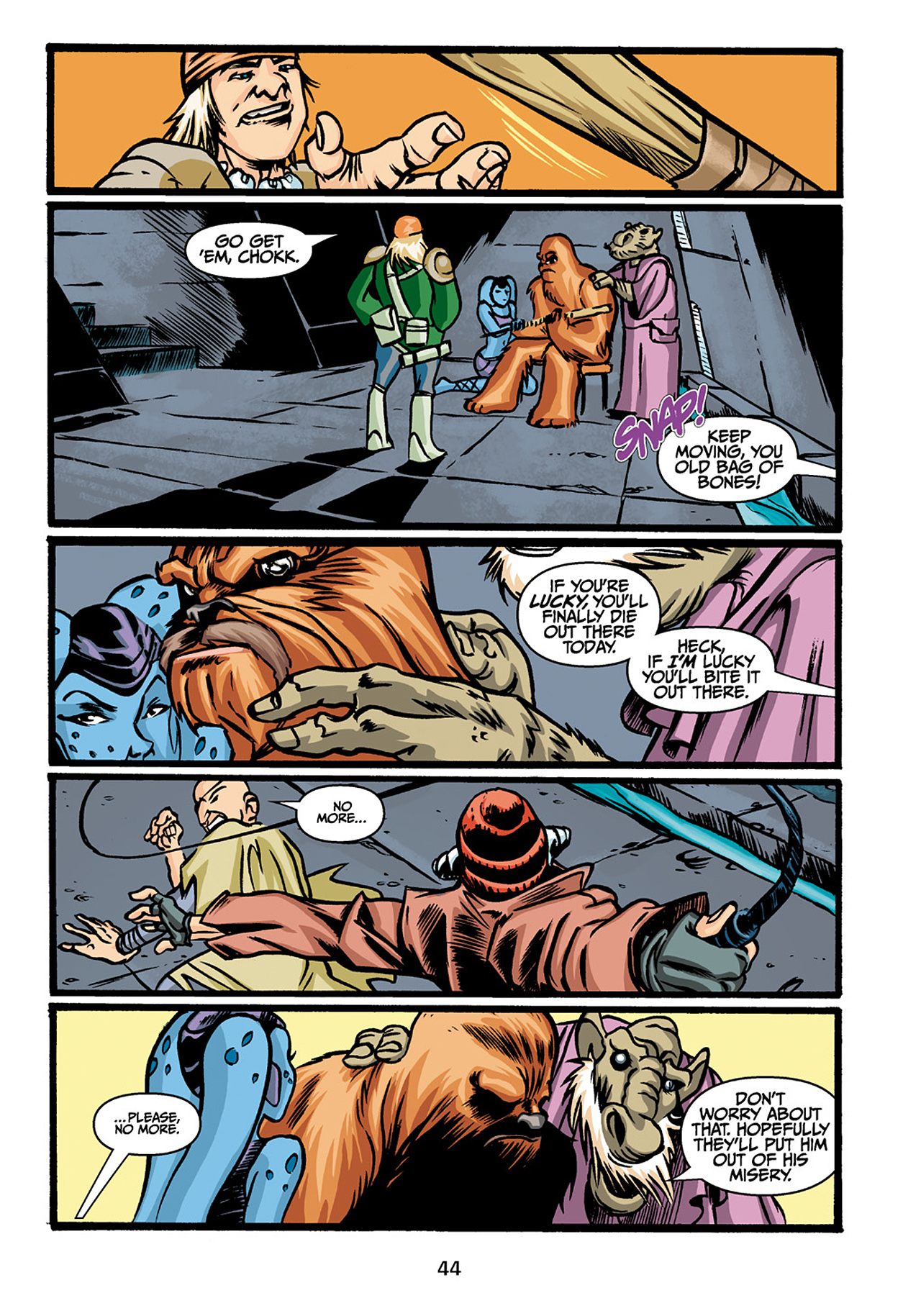 Read online Star Wars Omnibus comic -  Issue # Vol. 33 - 46