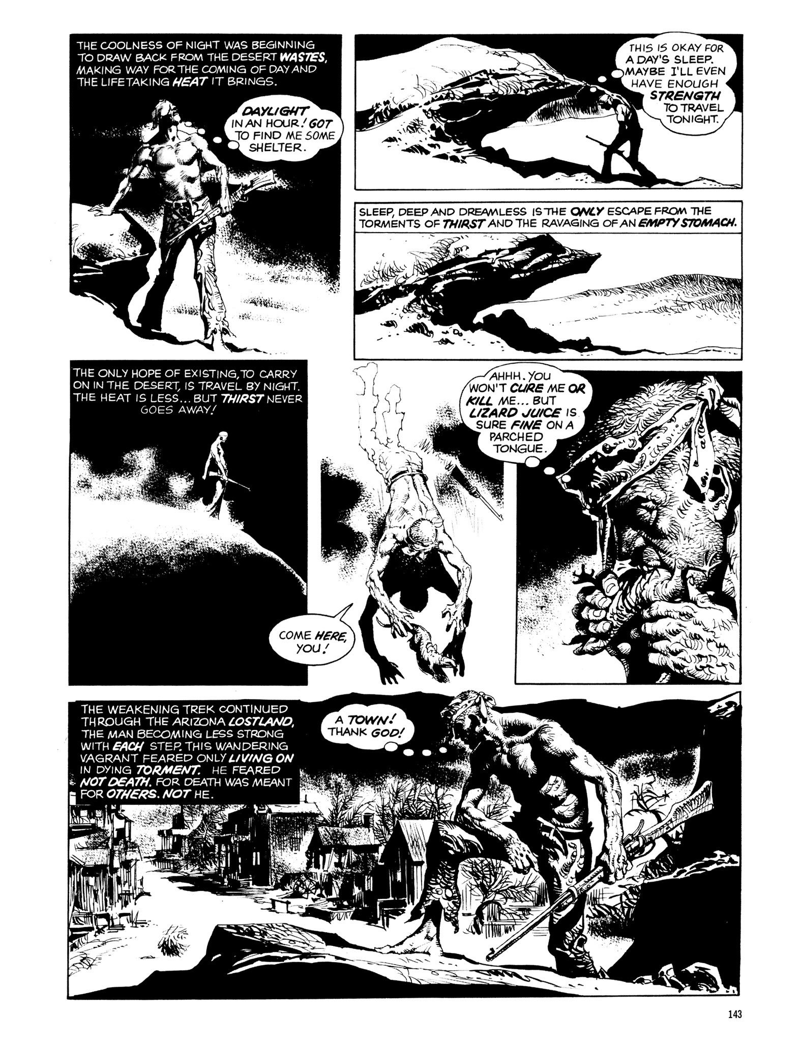 Read online Eerie Archives comic -  Issue # TPB 14 - 144
