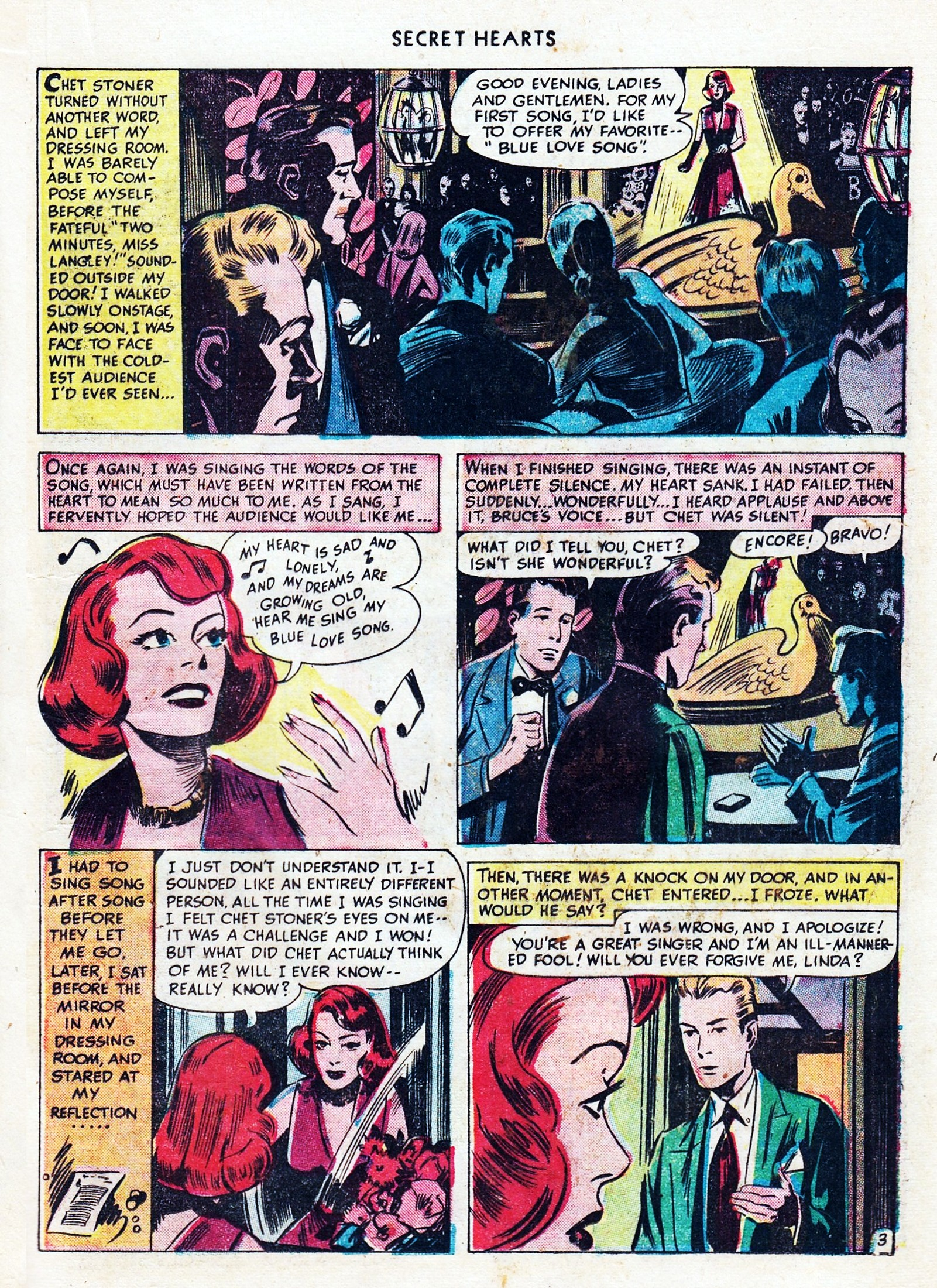 Read online Secret Hearts comic -  Issue #1 - 25