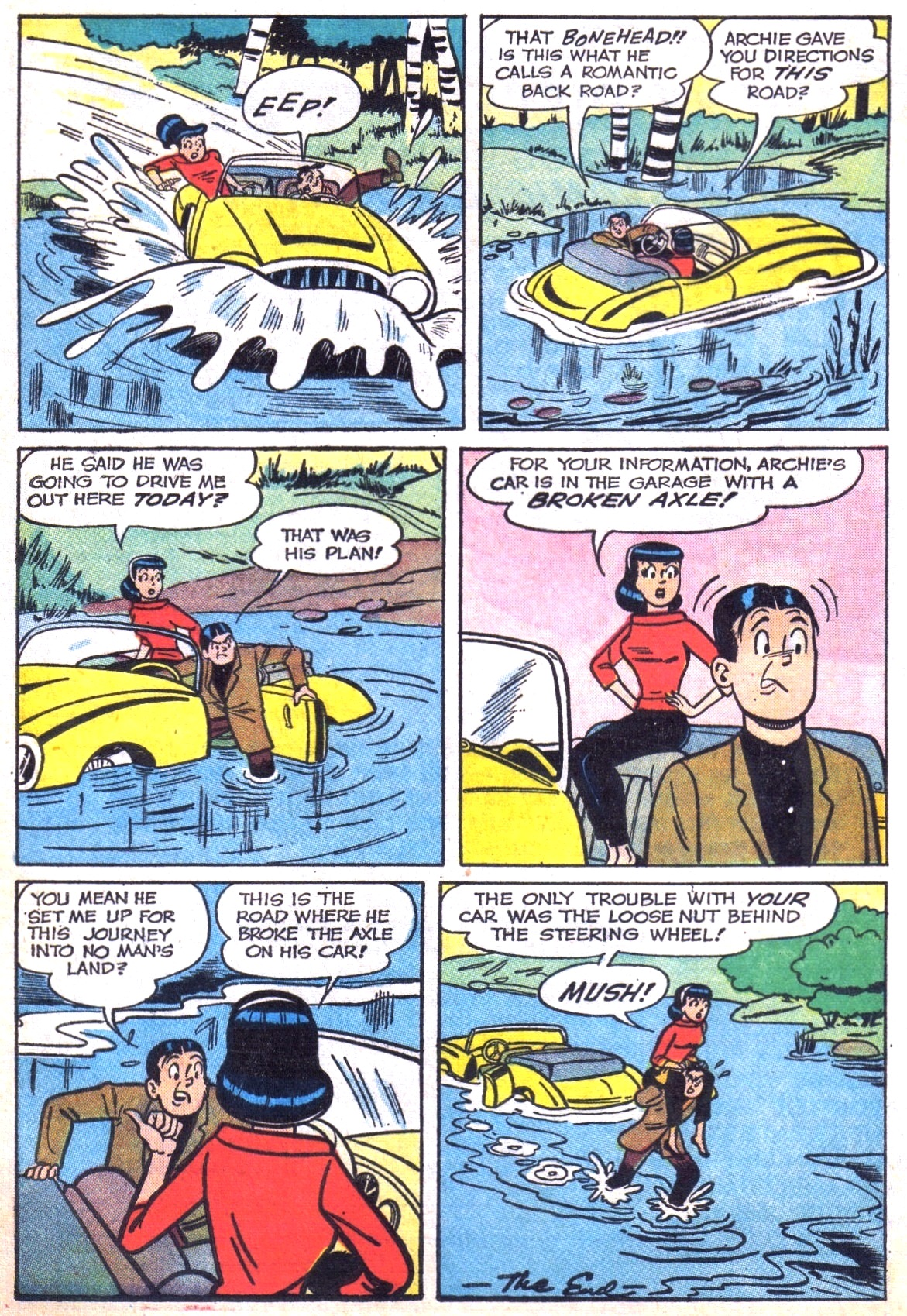 Read online Archie (1960) comic -  Issue #142 - 33