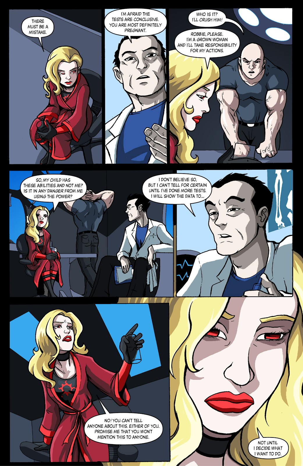 Sentinels issue 4 - Page 15