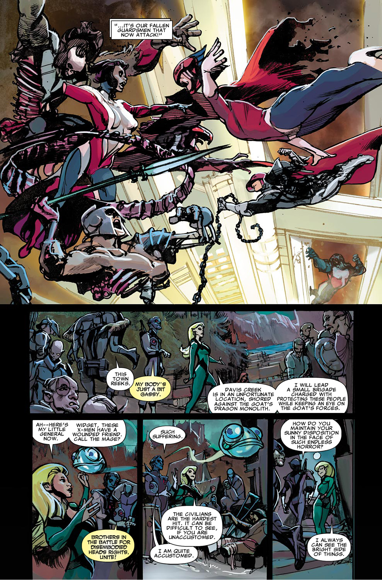 Uncanny X-Force (2010) #21 #23 - English 20