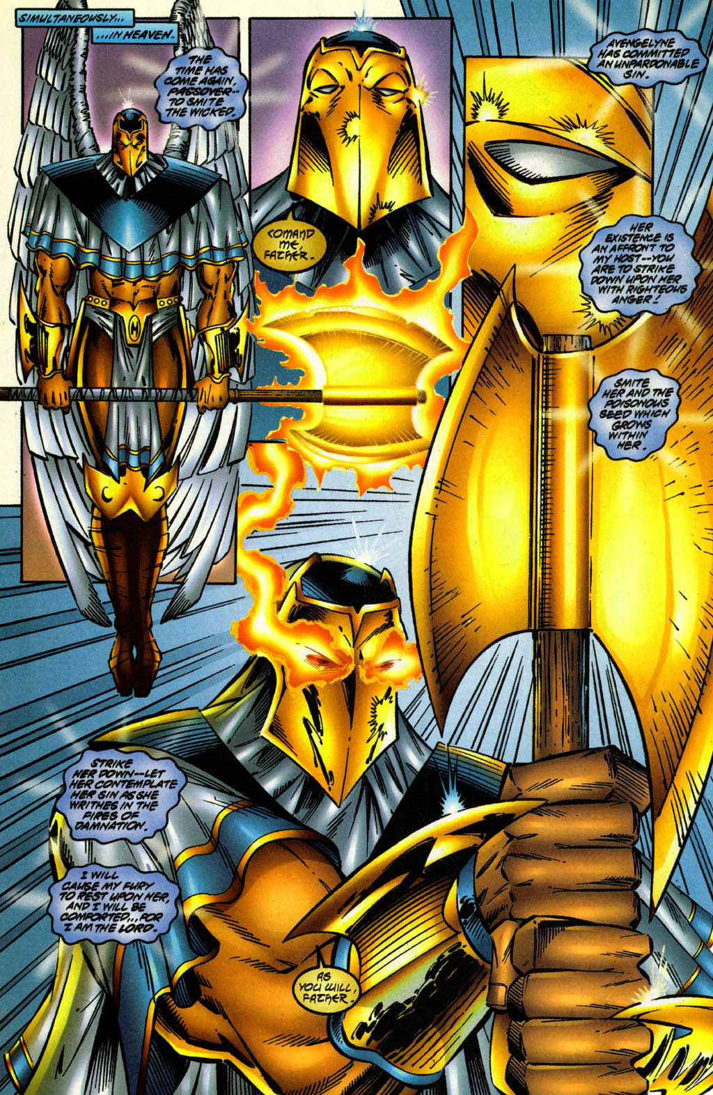 Read online Avengelyne (1996) comic -  Issue #2 - 10