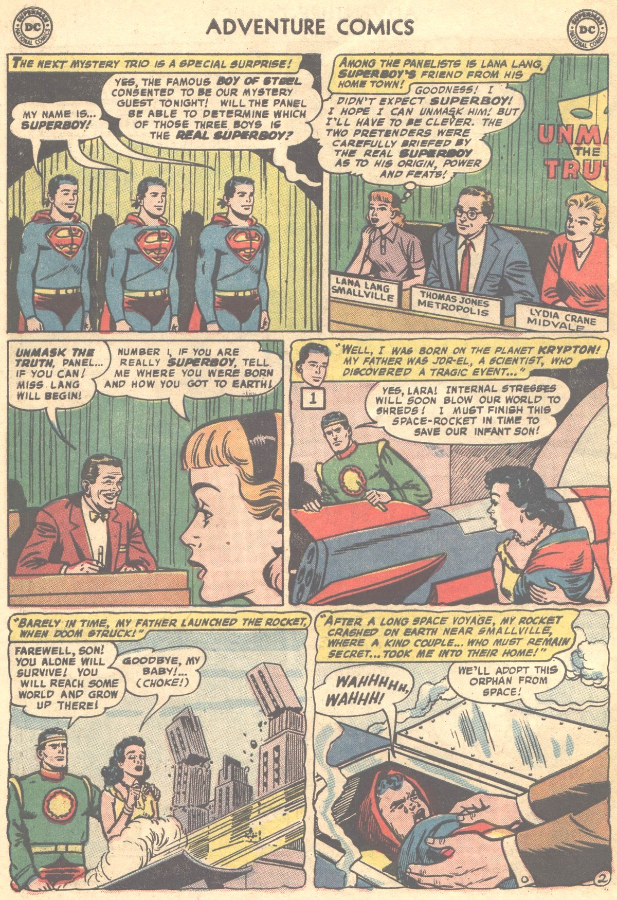 Read online Adventure Comics (1938) comic -  Issue #324 - 26