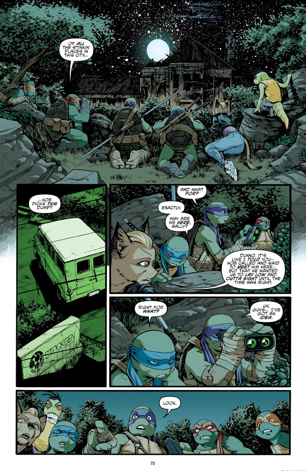 Read online Teenage Mutant Ninja Turtles: The IDW Collection comic -  Issue # TPB 9 (Part 1) - 74