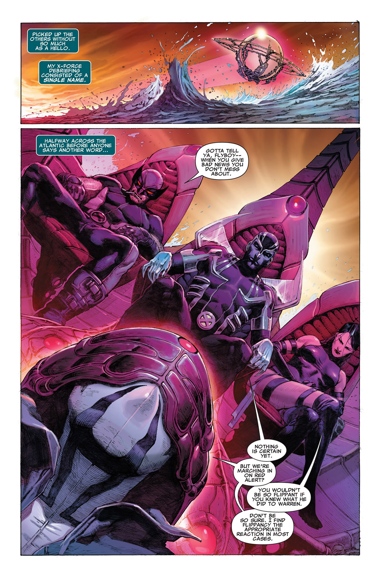 Read online Uncanny X-Force (2010) comic -  Issue #1 - 13