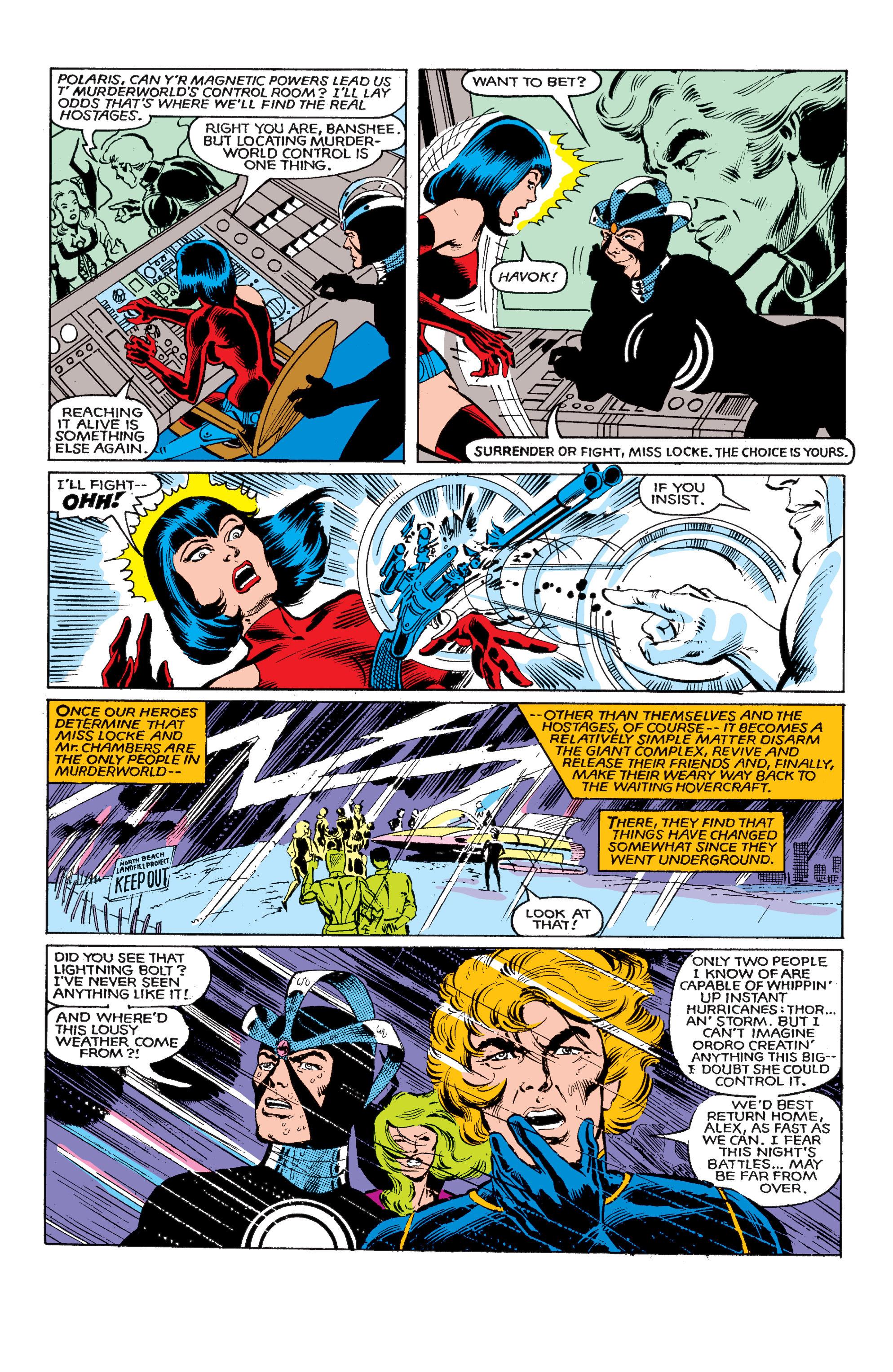 Read online Uncanny X-Men (1963) comic -  Issue #146 - 22