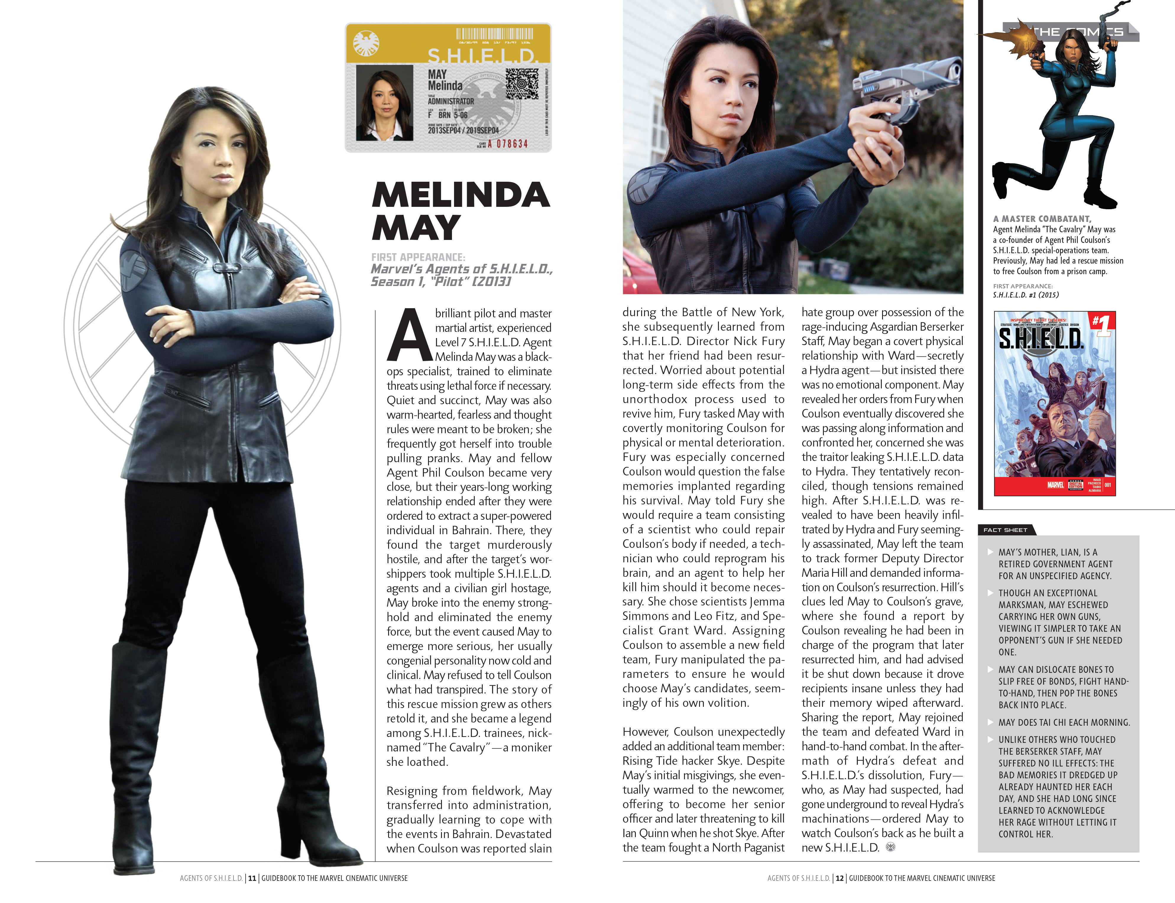 Read online Guidebook to the Marvel Cinematic Universe - Marvel's Agents of S.H.I.E.L.D. Season One comic -  Issue # Full - 9