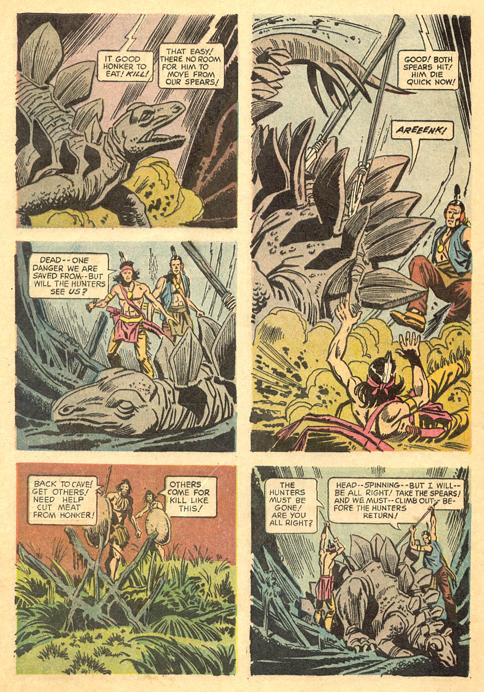 Read online Turok, Son of Stone comic -  Issue #68 - 28