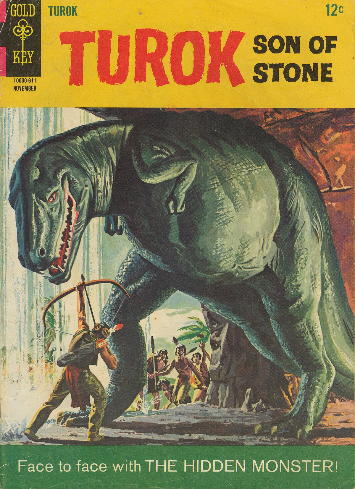 Read online Turok, Son of Stone comic -  Issue #54 - 1