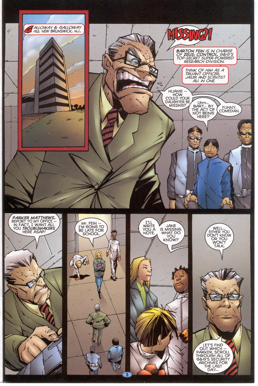 Read online Troublemakers comic -  Issue #7 - 6