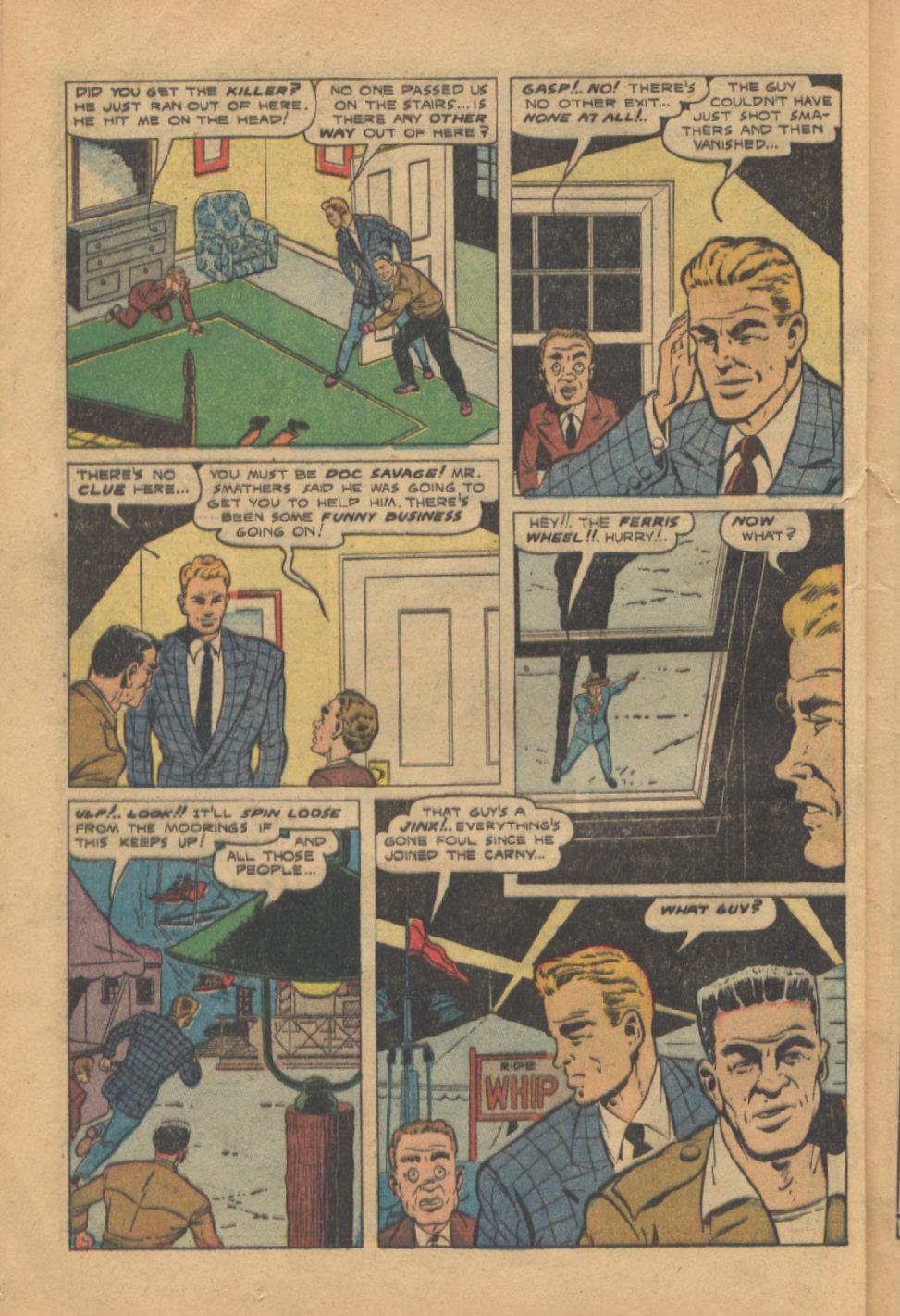 Read online Shadow Comics comic -  Issue #95 - 32