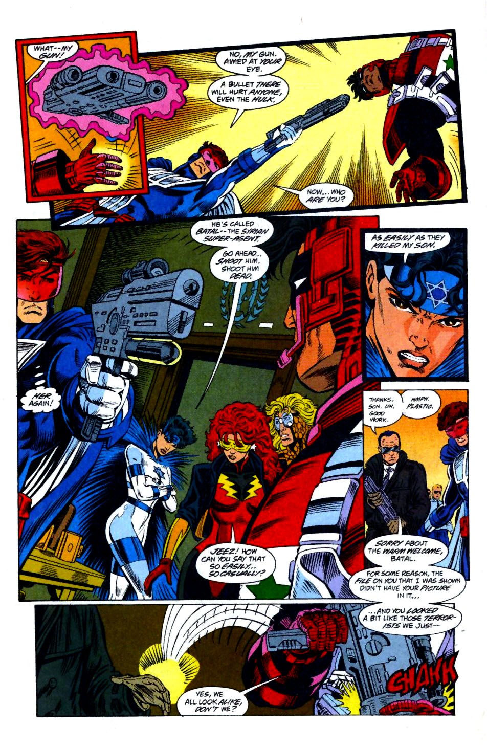 The New Warriors Issue #58 #62 - English 13