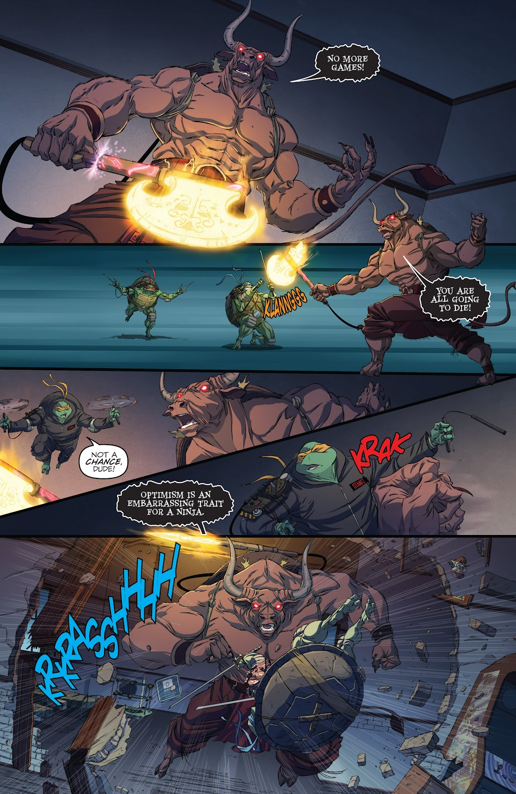 Read online Teenage Mutant Ninja Turtles: The IDW Collection comic -  Issue # TPB 5 (Part 3) - 55