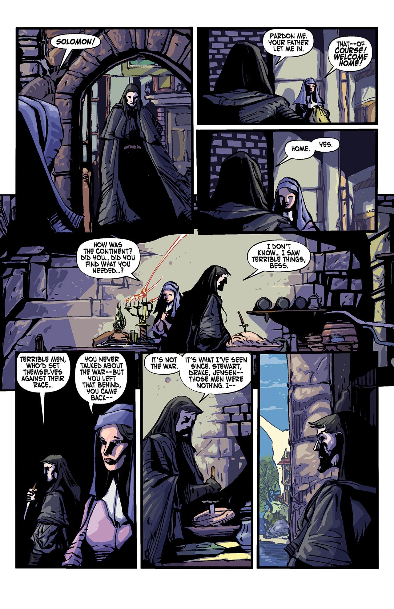 Read online Solomon Kane: Death's Black Riders comic -  Issue #4 - 26