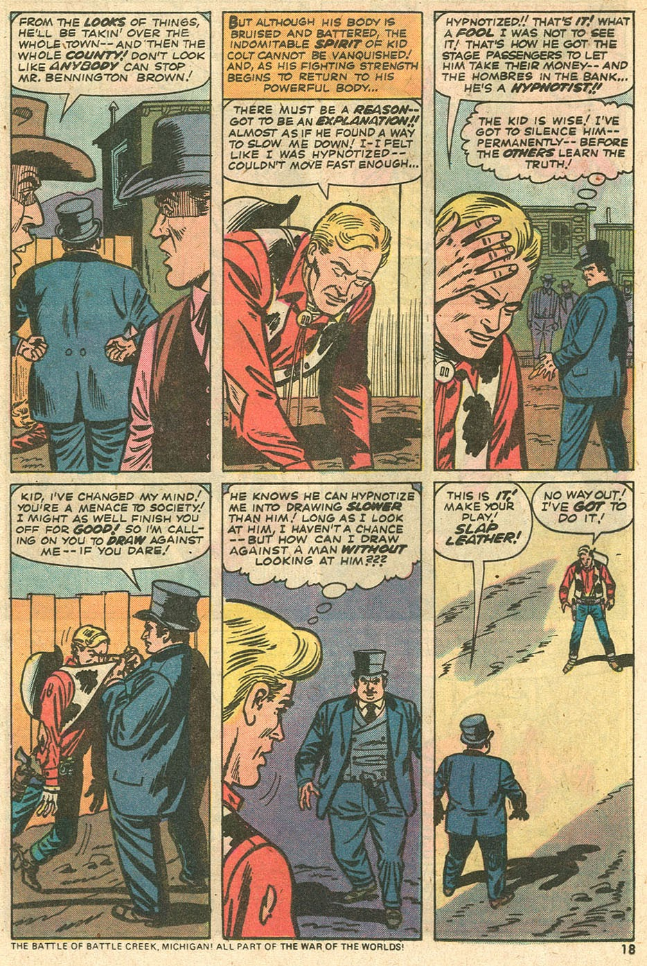 Kid Colt Outlaw issue 186 - Page 21