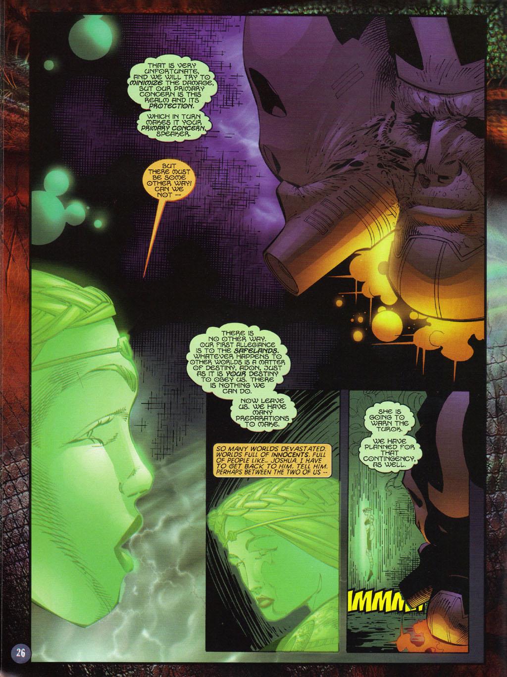 Read online Turok 2: Adon's Curse comic -  Issue # Full - 27
