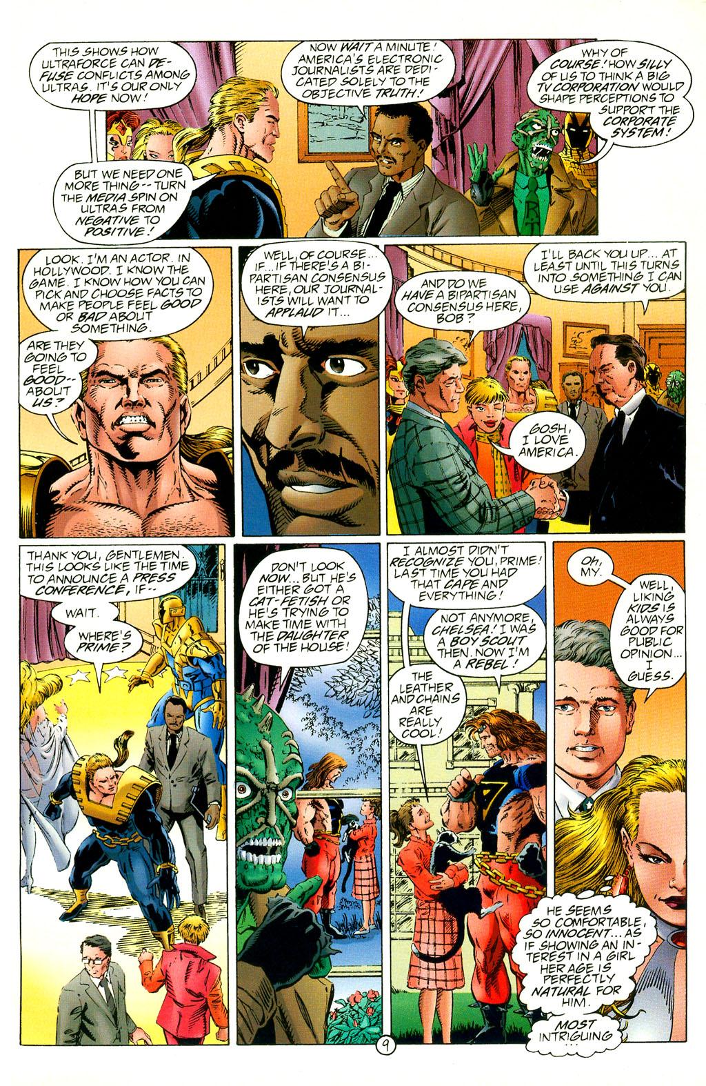 Read online UltraForce (1994) comic -  Issue #2 - 10