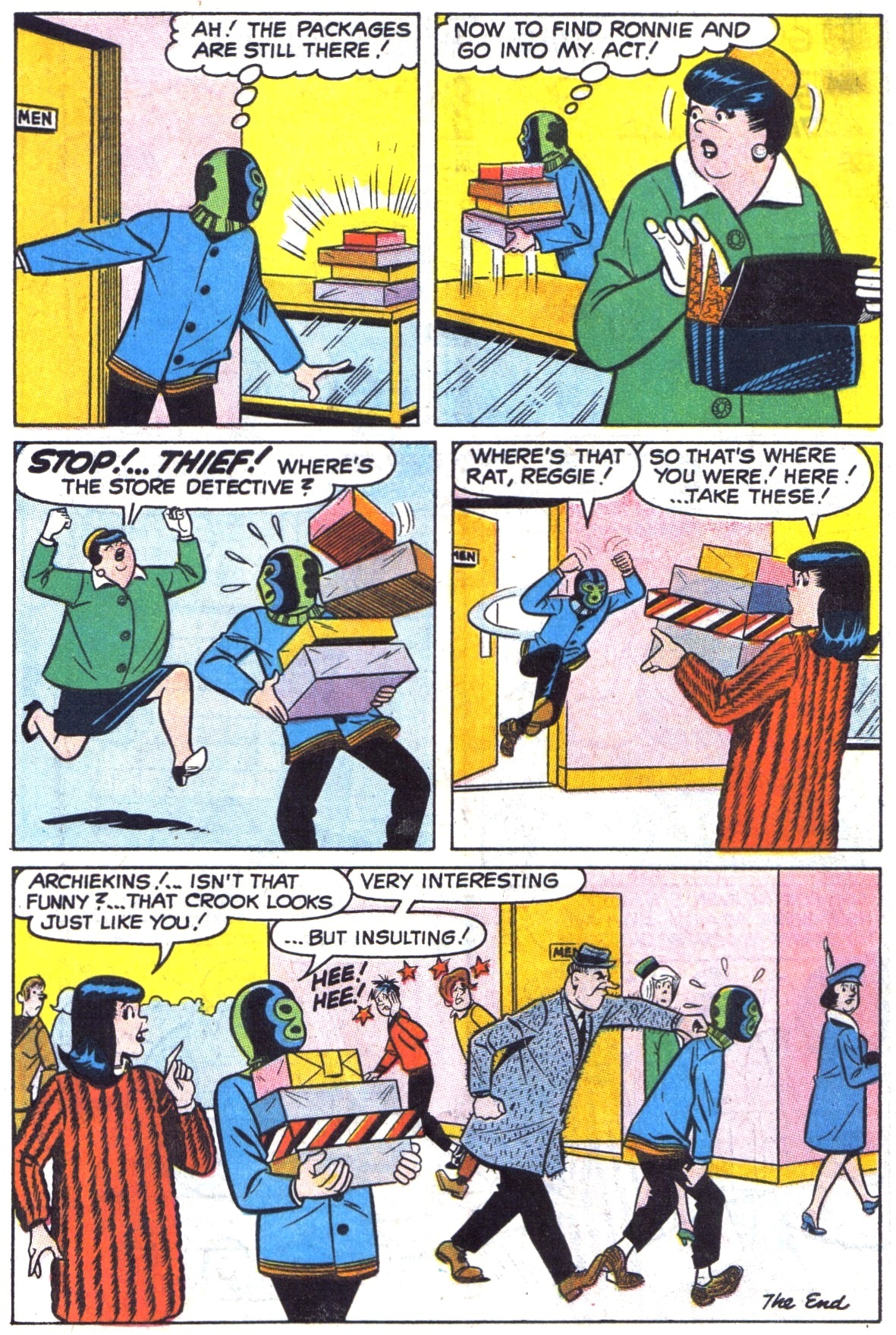 Read online Archie (1960) comic -  Issue #190 - 18