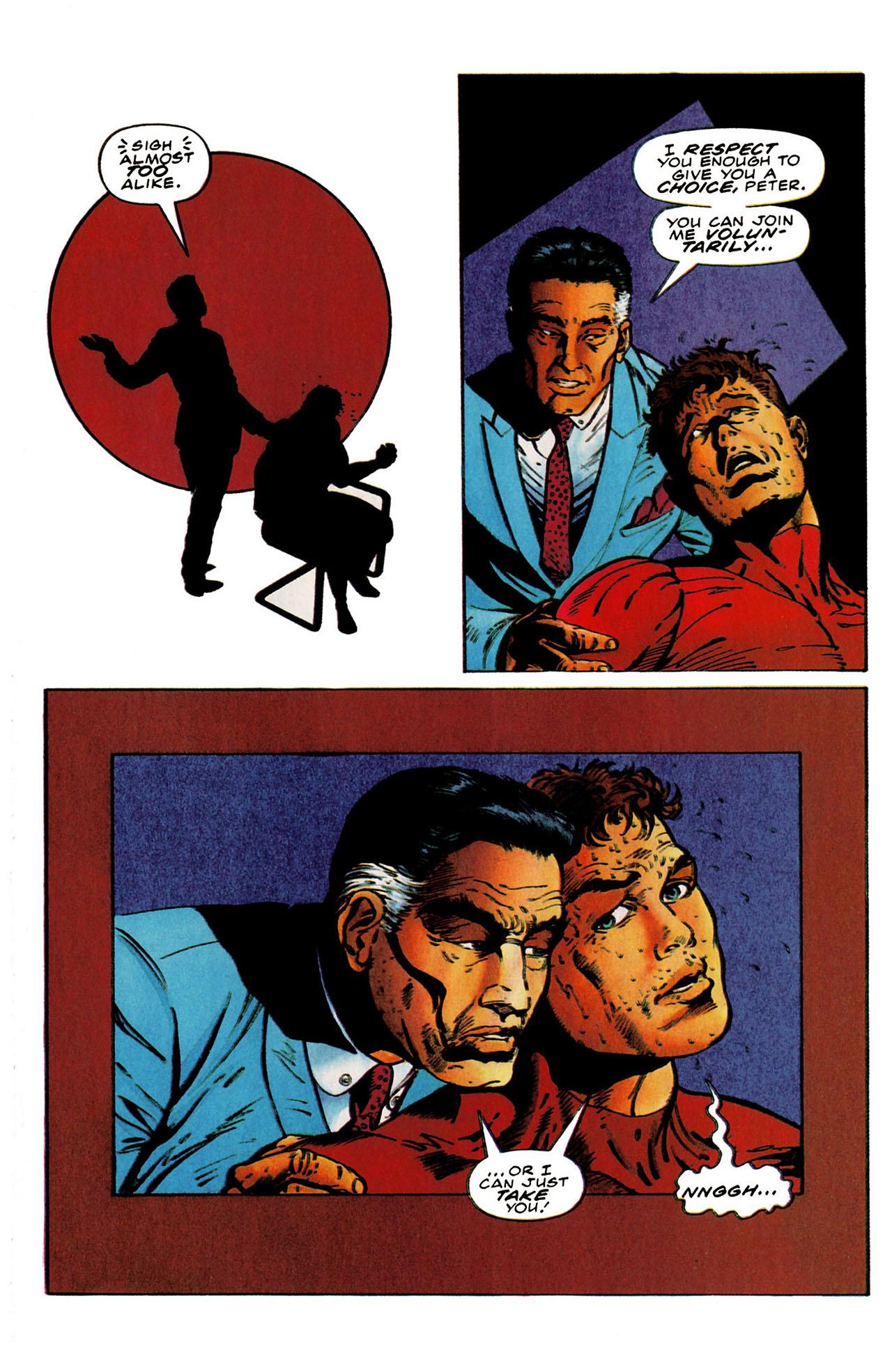 Read online Harbinger (1992) comic -  Issue #25 - 22