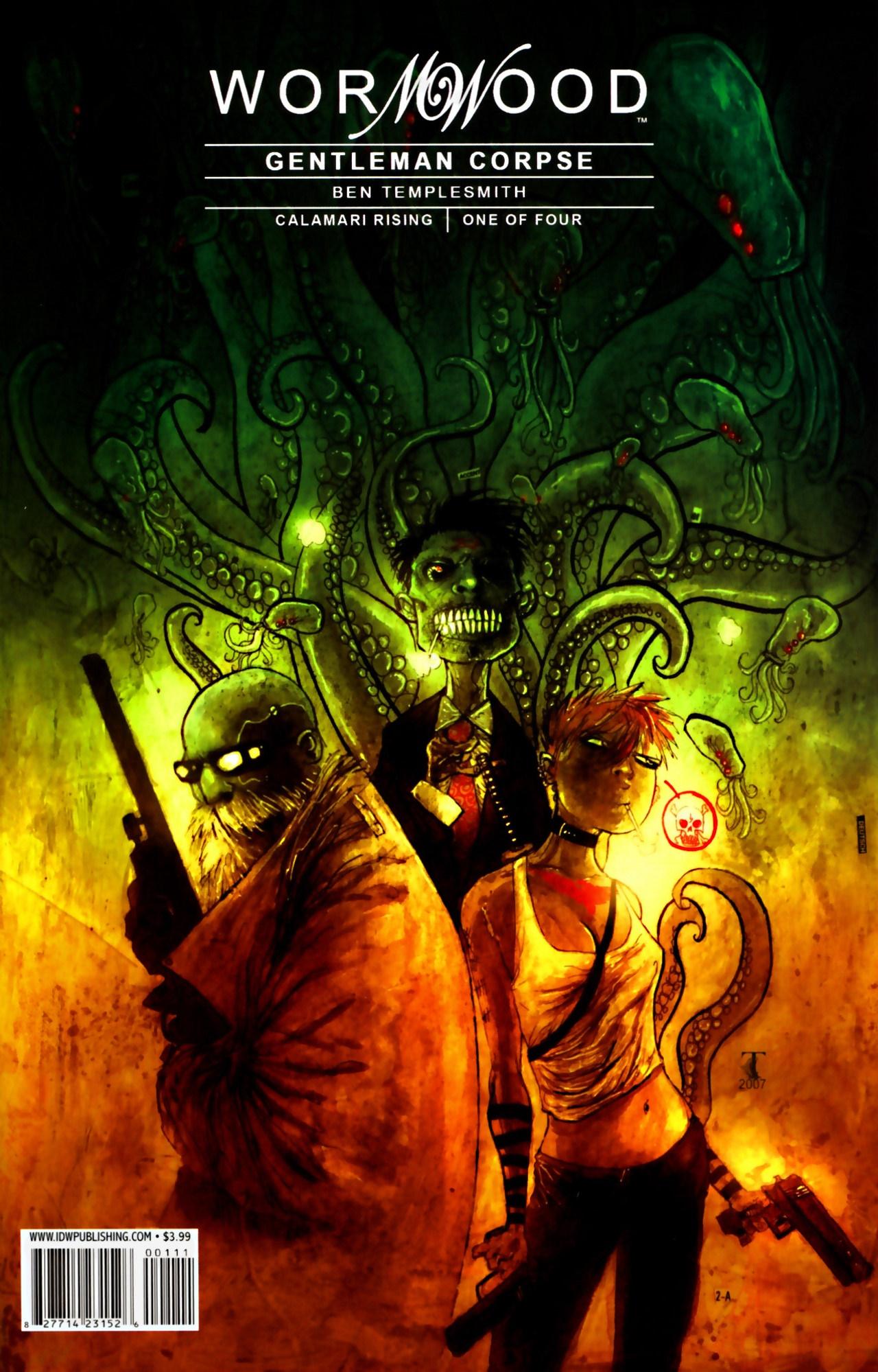 Read online Wormwood: Gentleman Corpse comic -  Issue #9 - 1