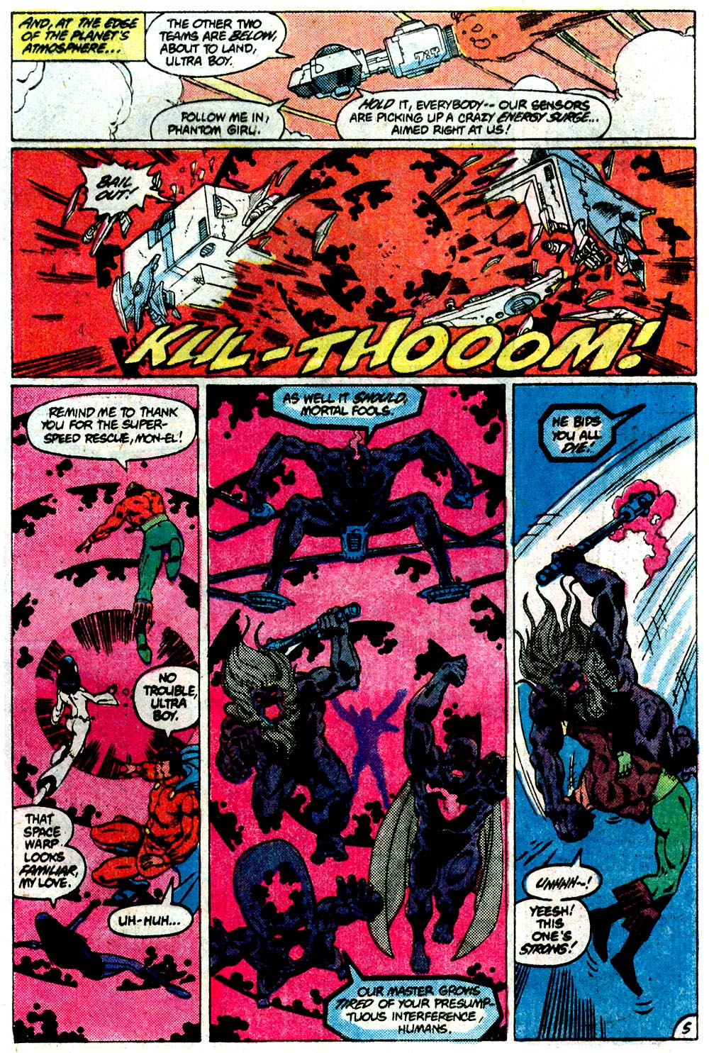Legion of Super-Heroes (1980) 292 Page 5