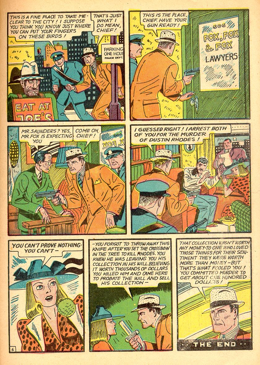 Read online Detective Comics (1937) comic -  Issue #30 - 41