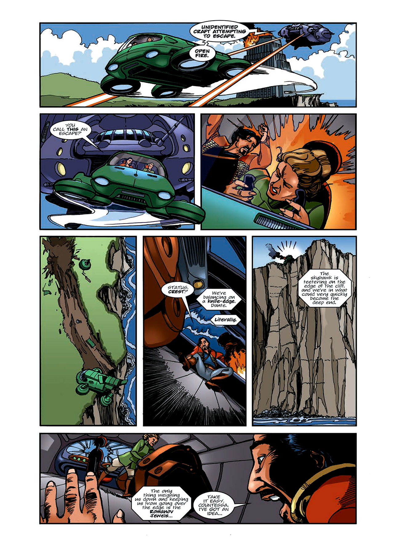 Read online Nikolai Dante comic -  Issue # TPB 6 - 76
